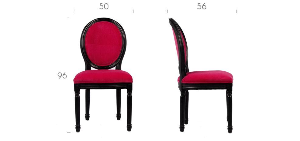 chaise velours rose optez pour nos chaises en velours roses rdv d co. Black Bedroom Furniture Sets. Home Design Ideas