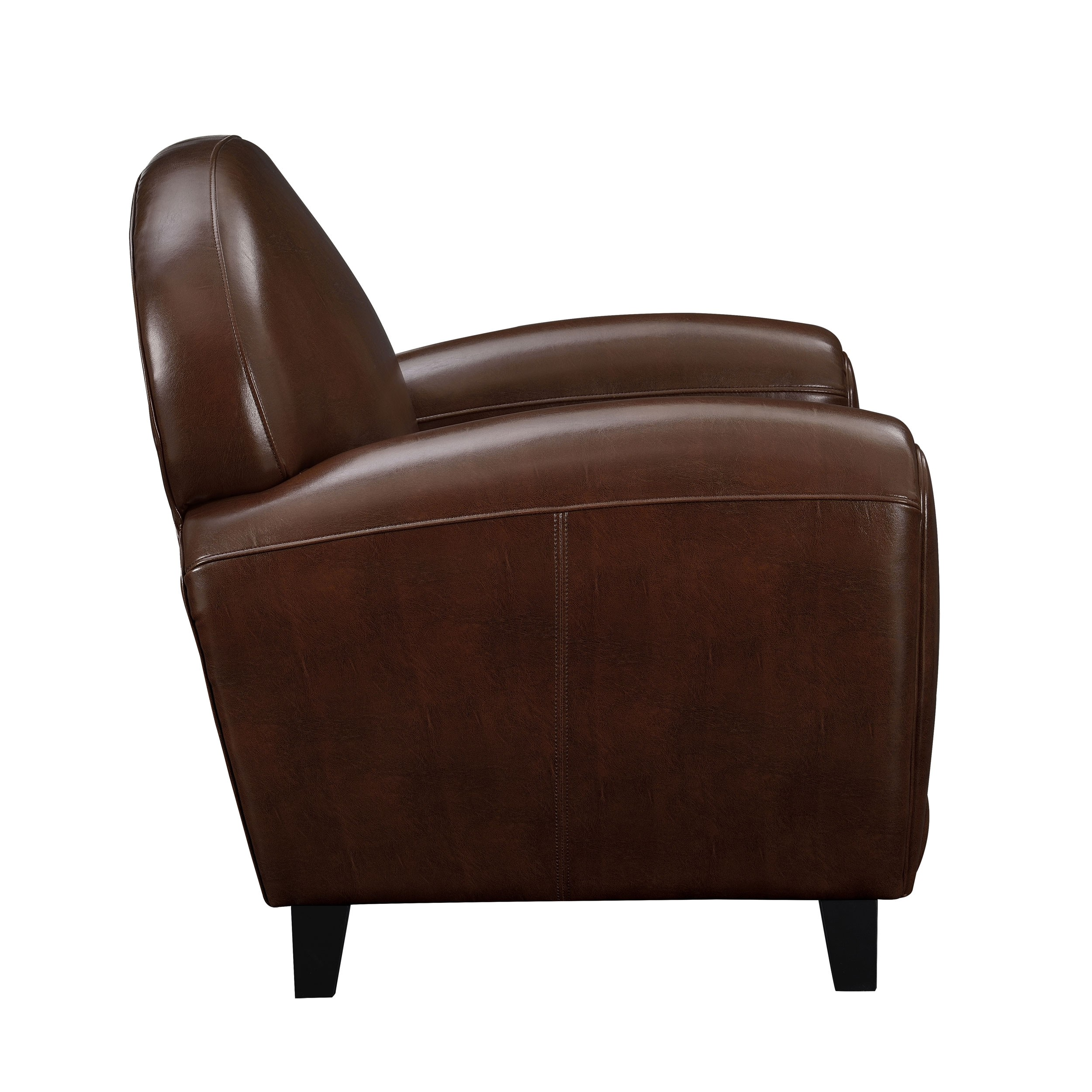 fauteuil club cuir marron achetez nos fauteuils club cuir marron rdv d co. Black Bedroom Furniture Sets. Home Design Ideas