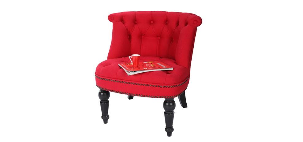 fauteuil crapaud rouge commandez nos fauteuils crapaud rouges rdv d co. Black Bedroom Furniture Sets. Home Design Ideas