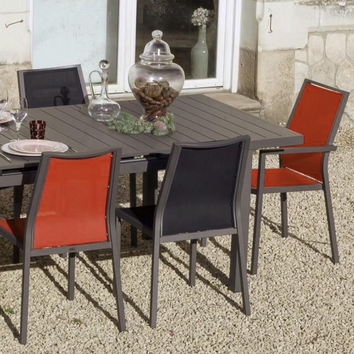 achat fauteuil de repas exterieur design