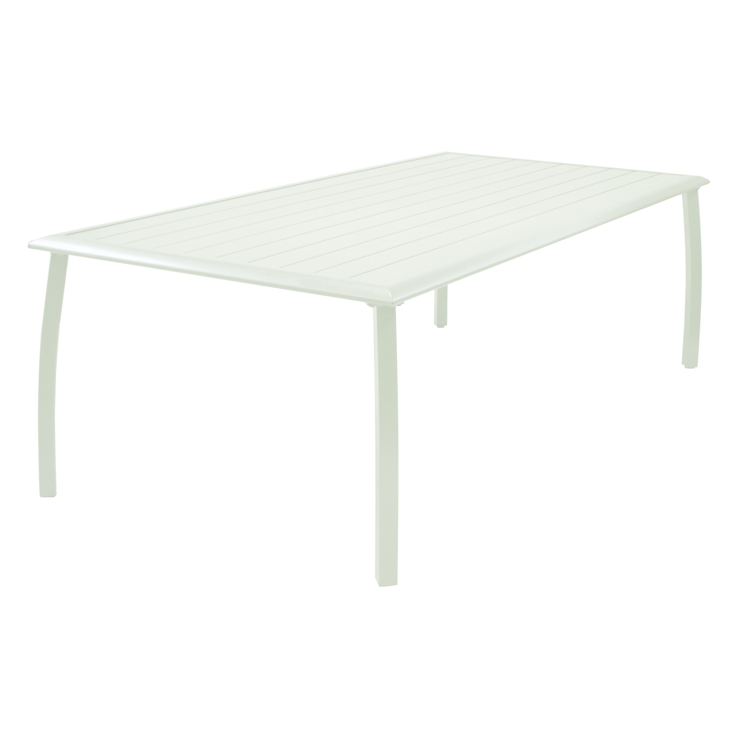Table de jardin 180cm Livourne blanche