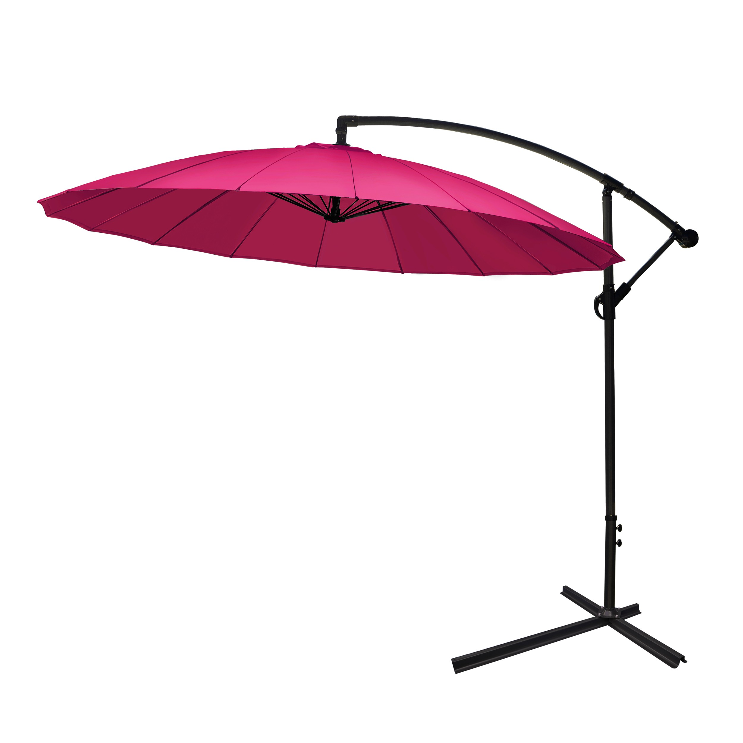parasol d port ibiza framboise restez l 39 ombre avec nos parasols d port s ibiza framboise. Black Bedroom Furniture Sets. Home Design Ideas