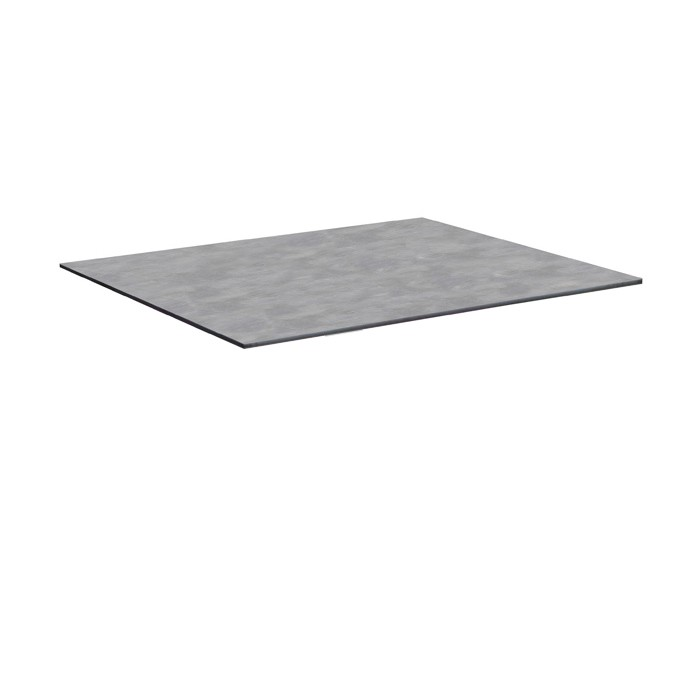 achat plateau gris clair de table