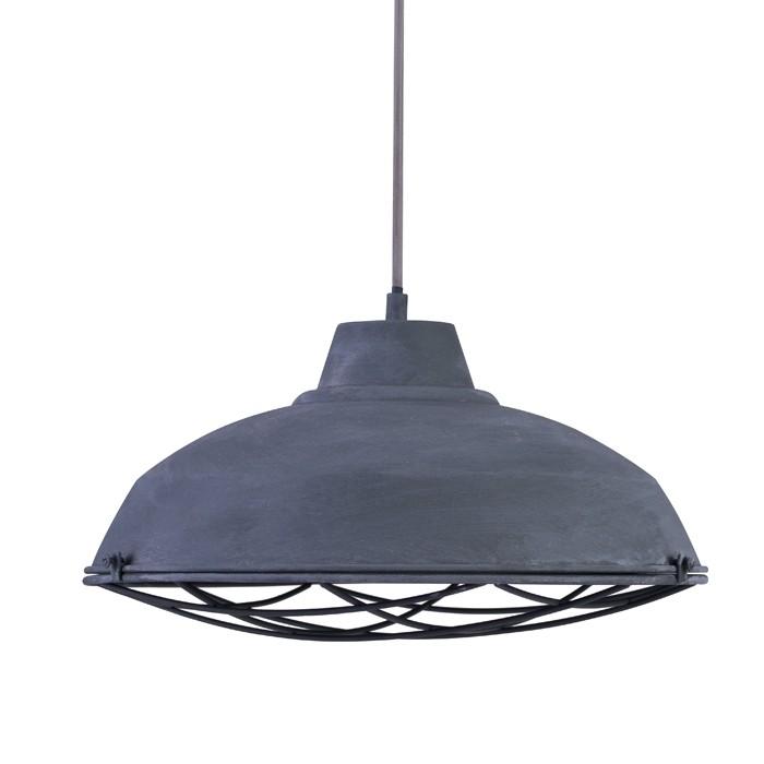 achat suspension grise en metal
