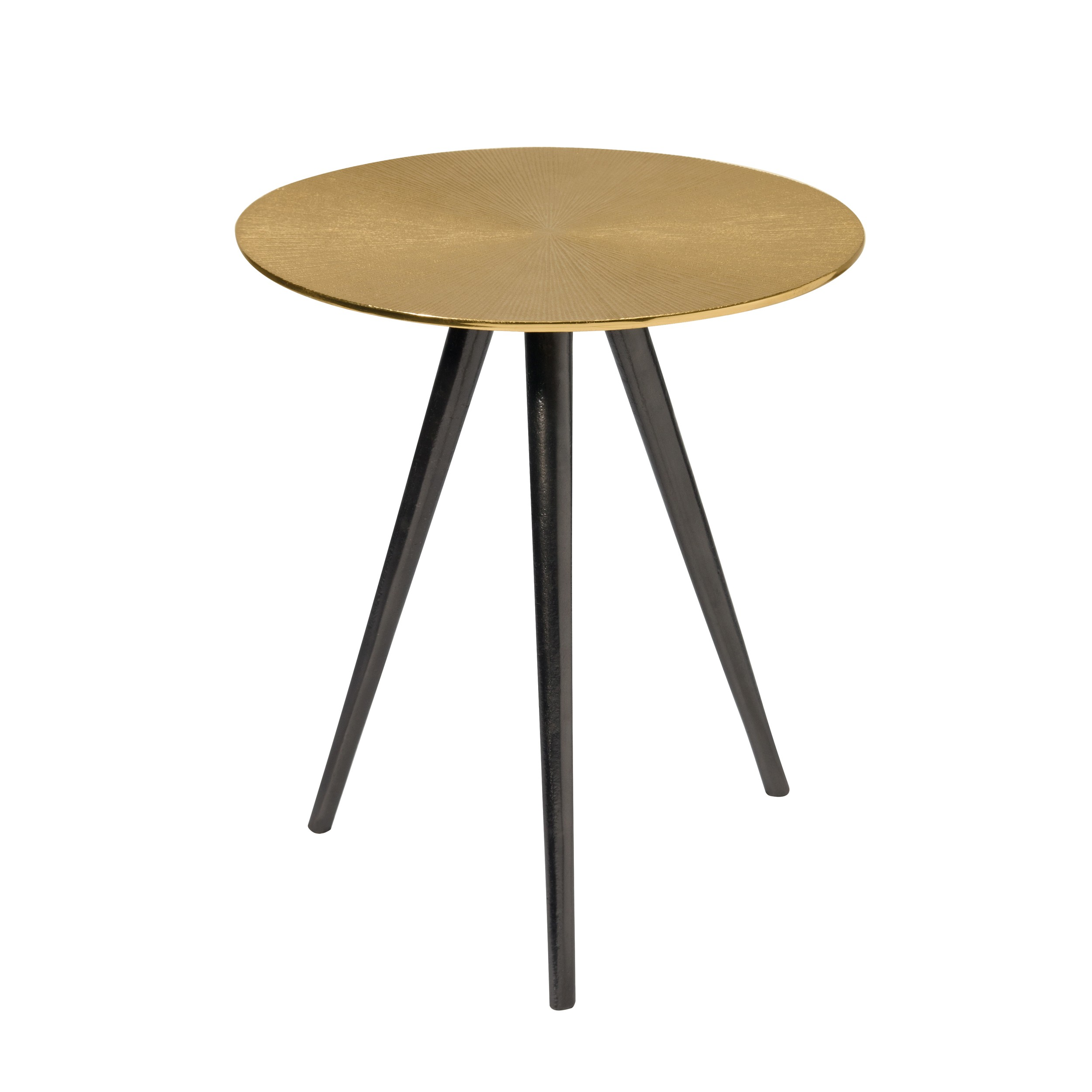 Ronde Basse Laiton Table Rivak O8PX0knw
