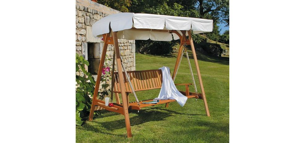balancelle en bois commandez nos balancelles en bois. Black Bedroom Furniture Sets. Home Design Ideas