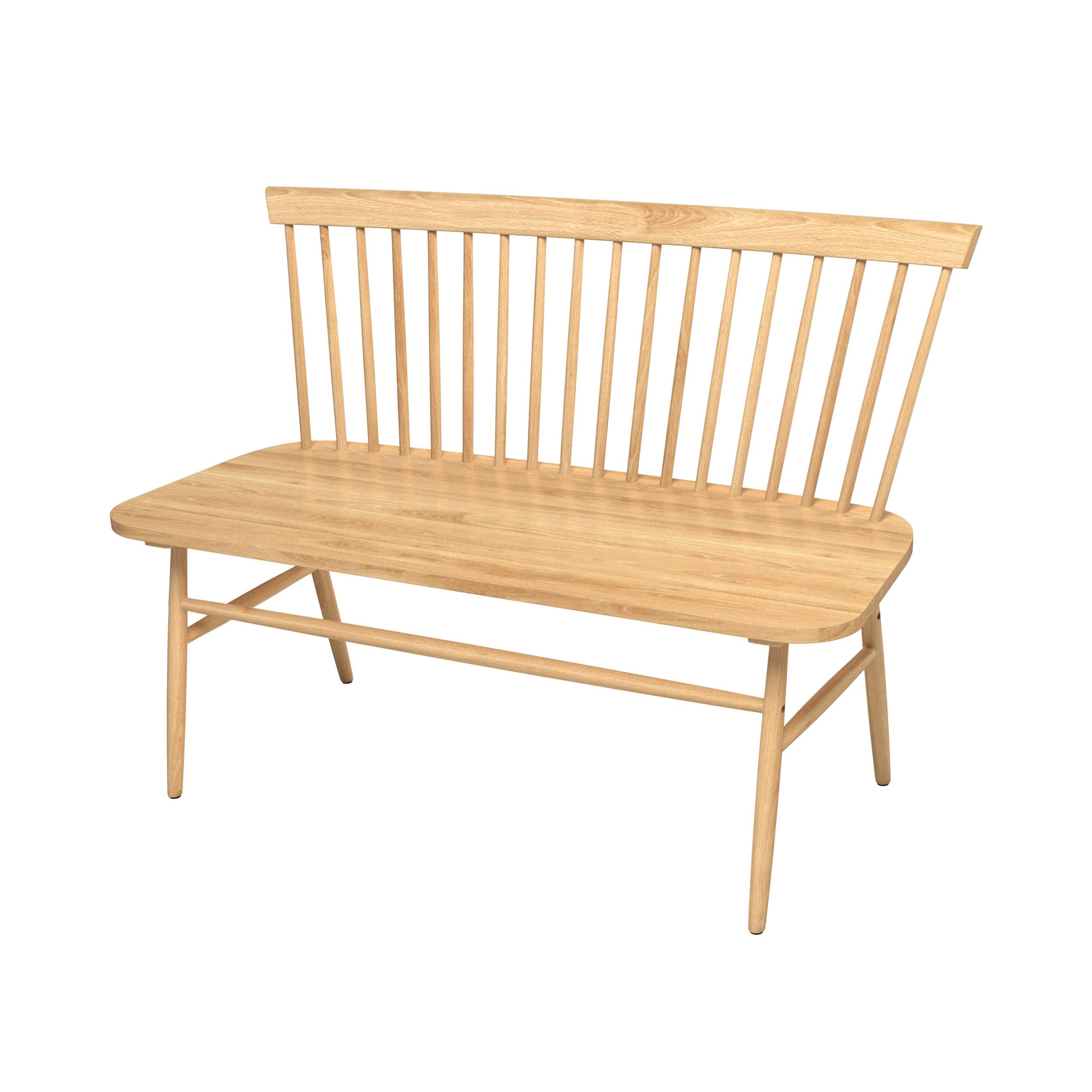 acheter banc confortable en bois