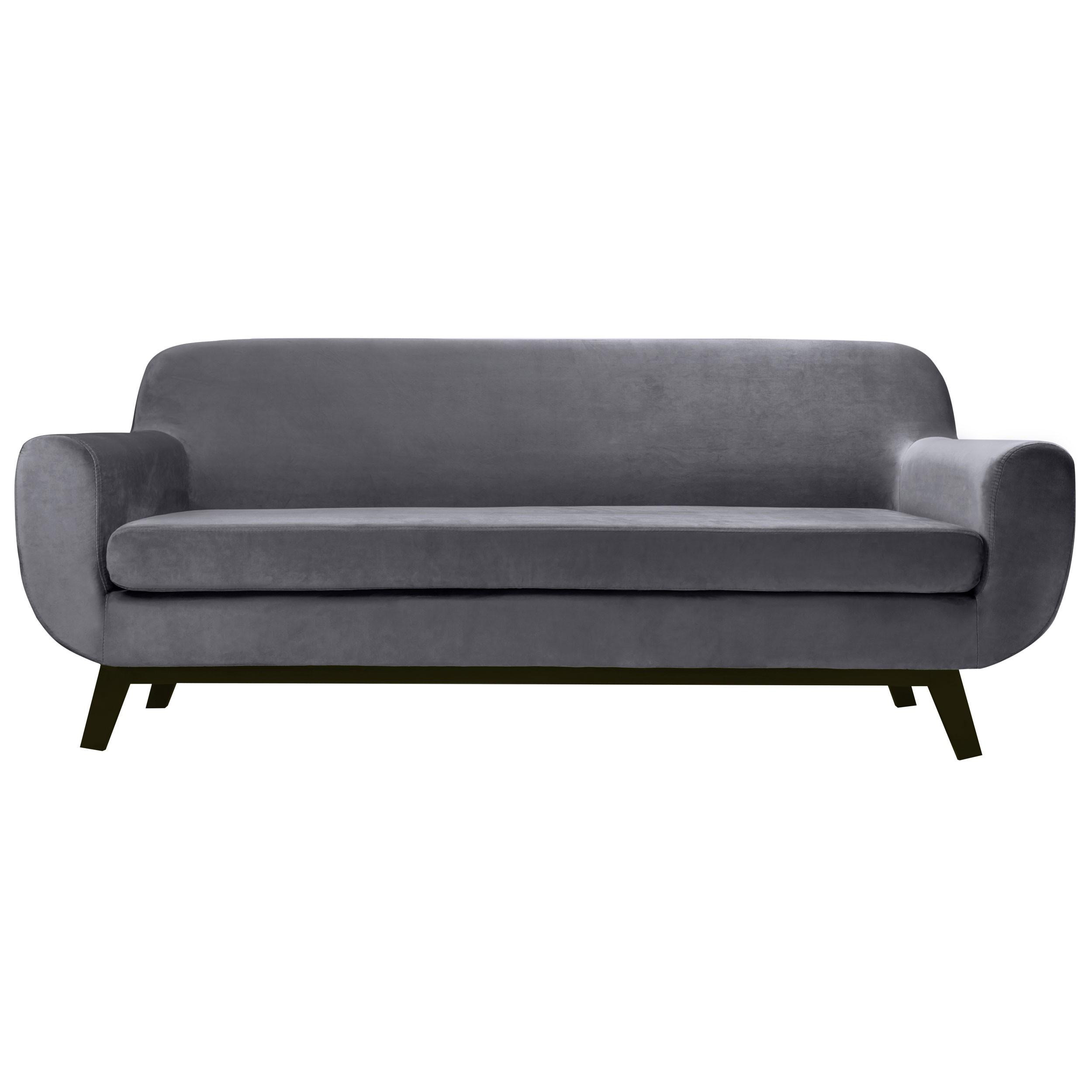 acheter canapé gris velours