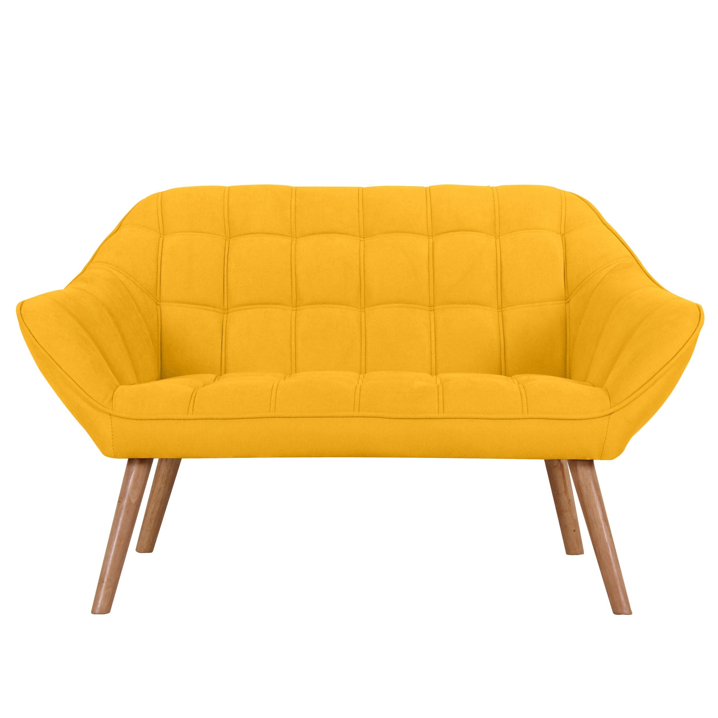 acheter canape jaune tissu