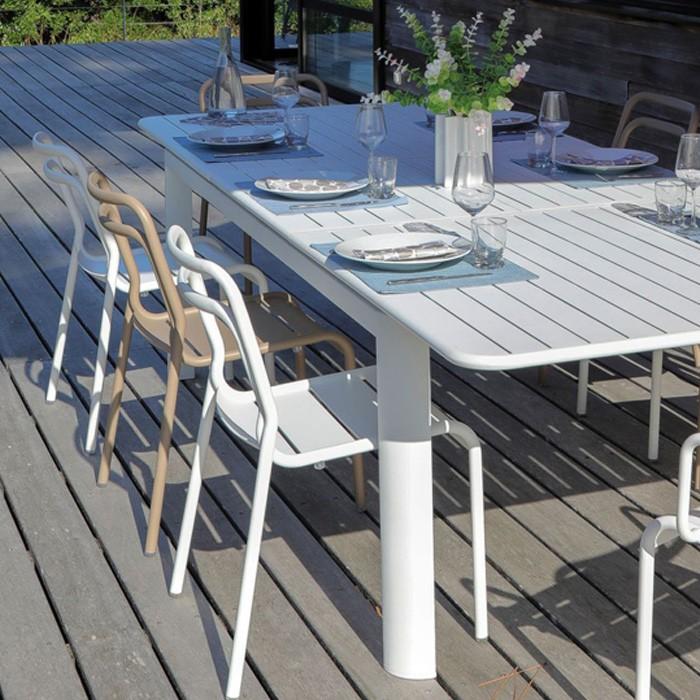 acheter chaise beige de jardin