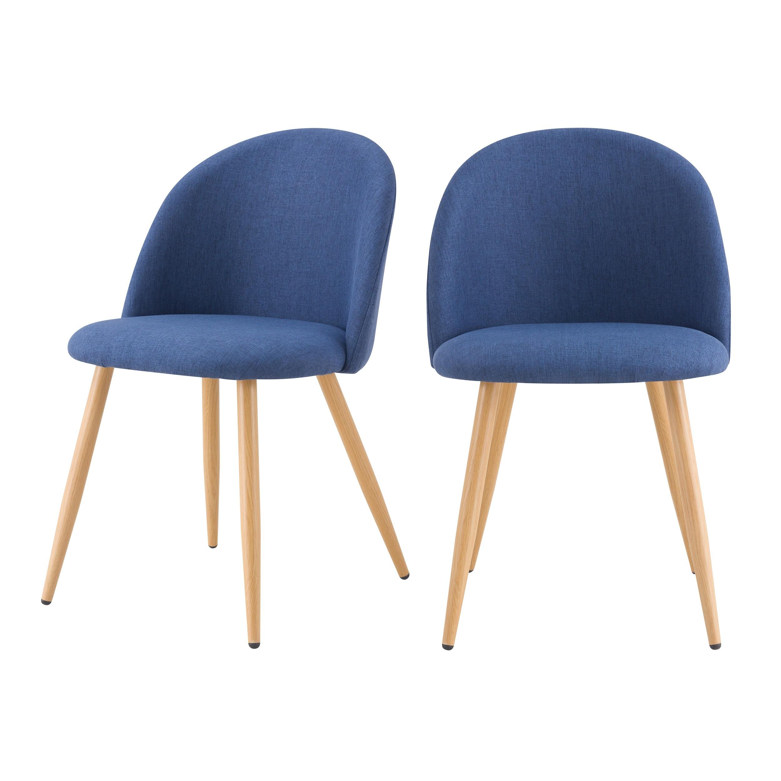 acheter chaise lot de 2 scandinave