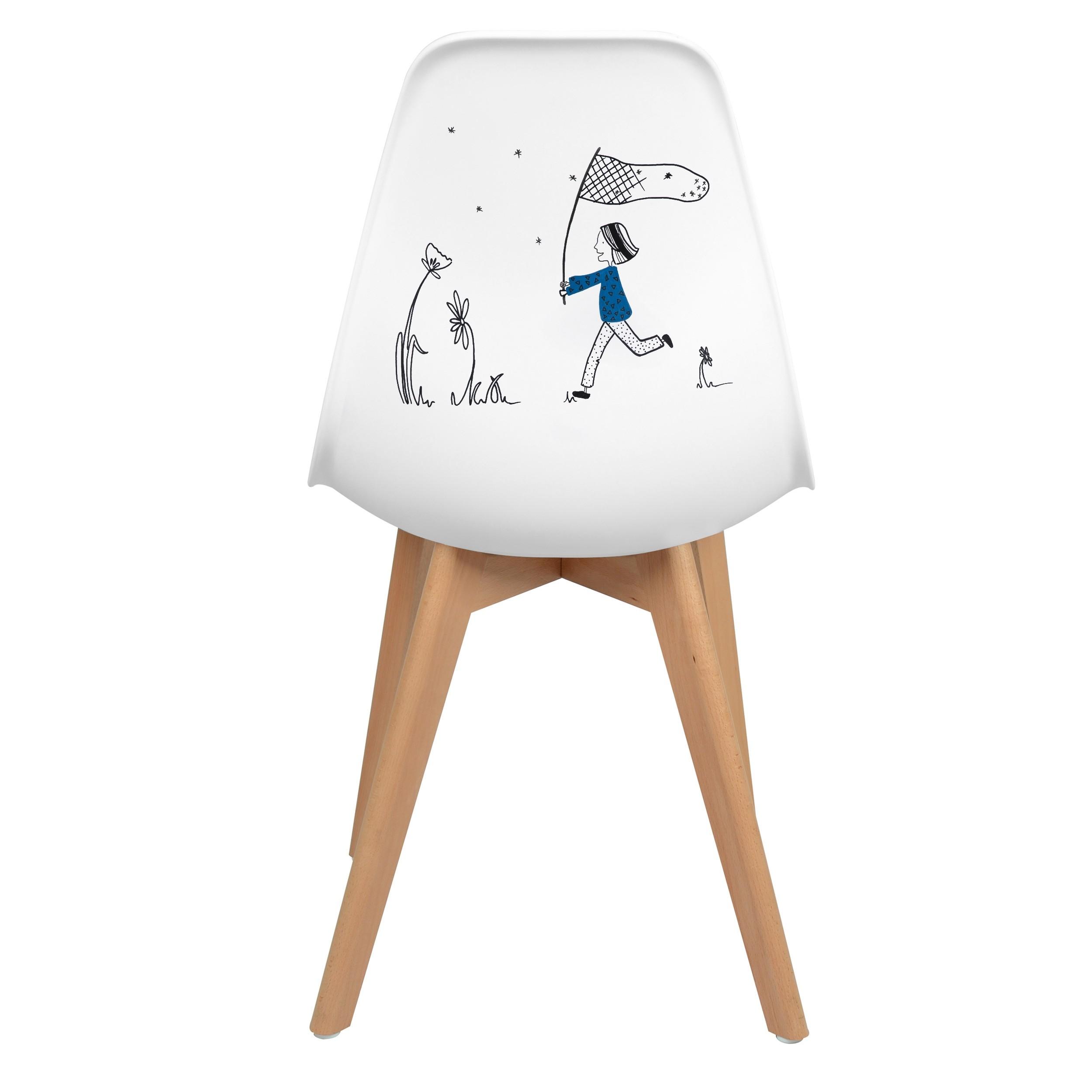 acheter chaise d artiste unique scandinave