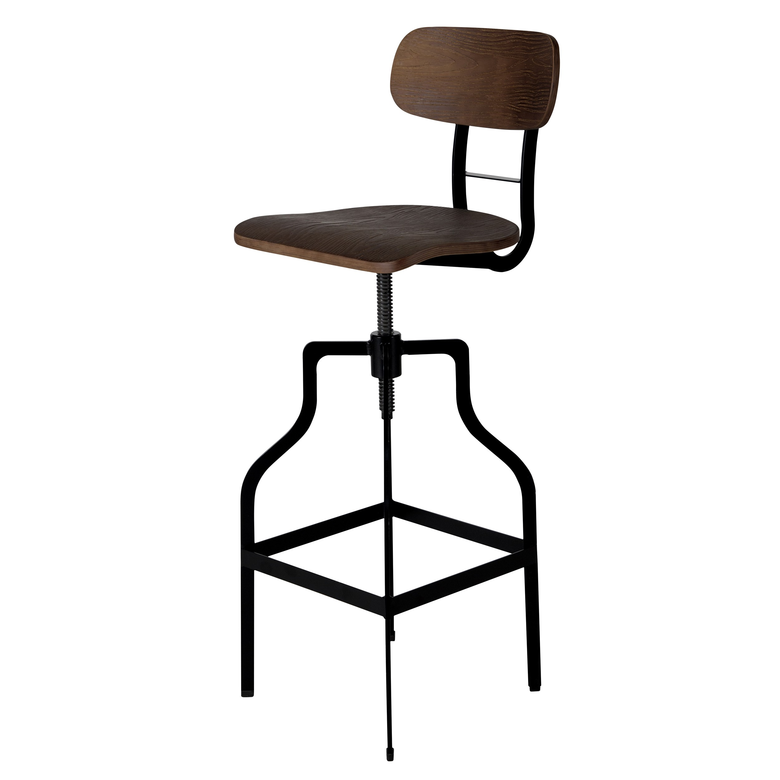 achat chaise bar retro bois petit prix