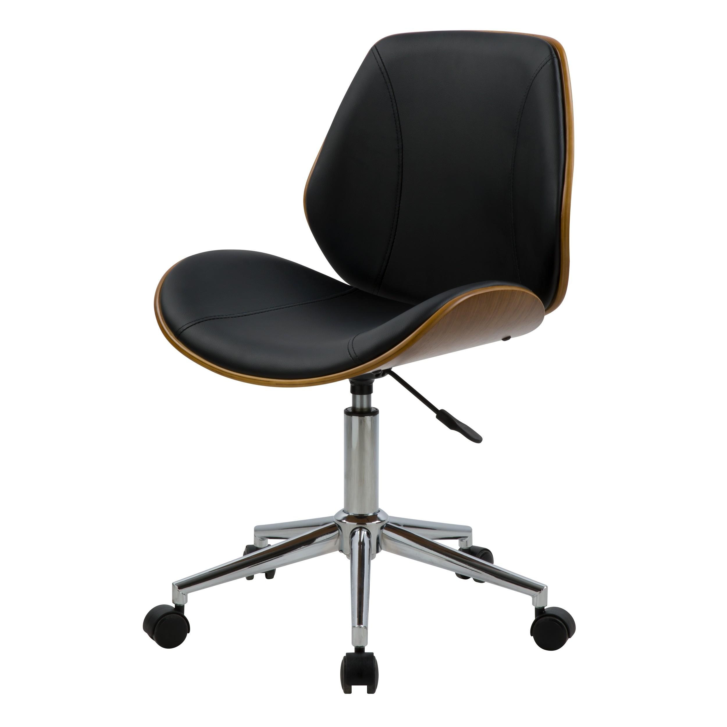 acheter chaise de bureau en synthetique et bois