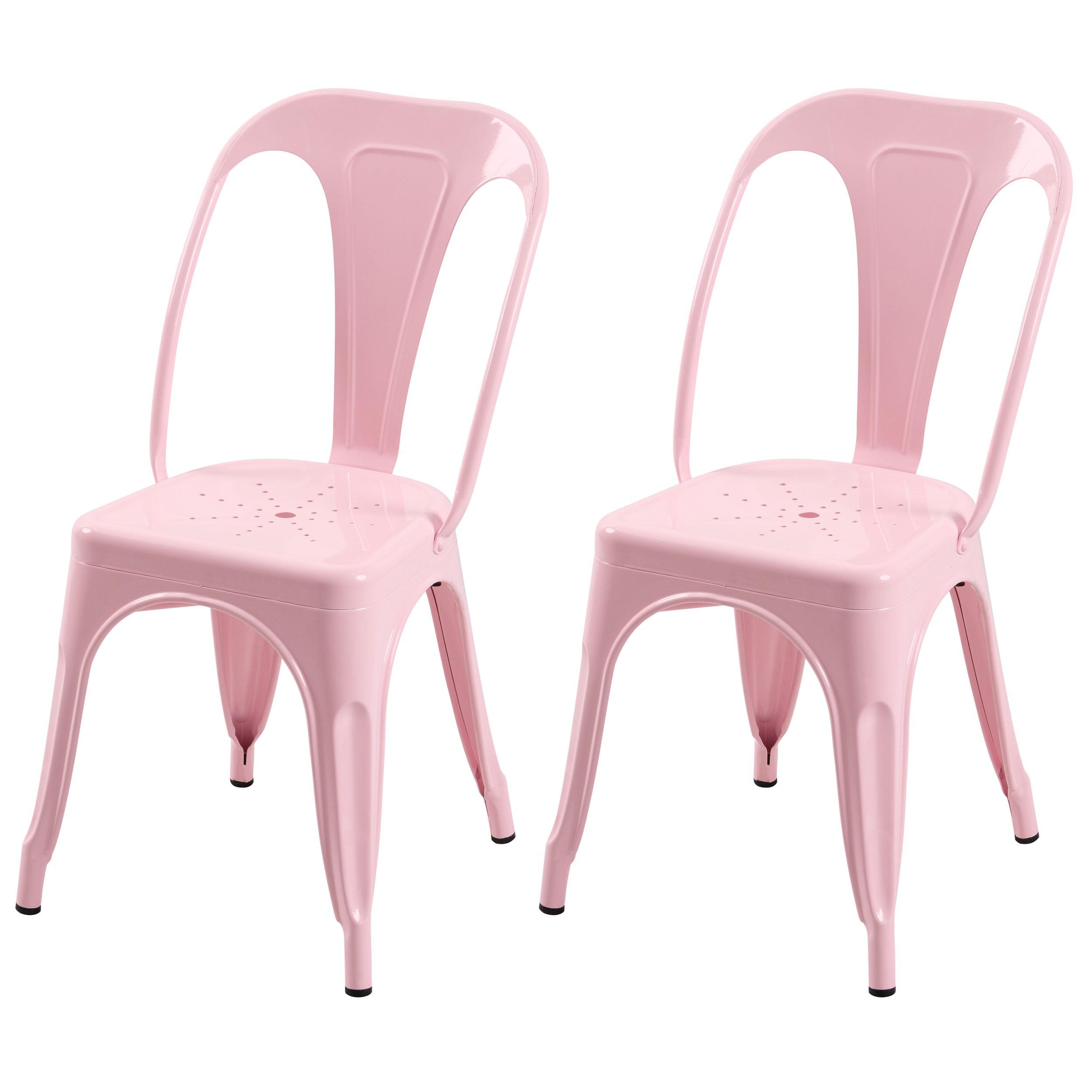 acheter chaise indus lot de 2