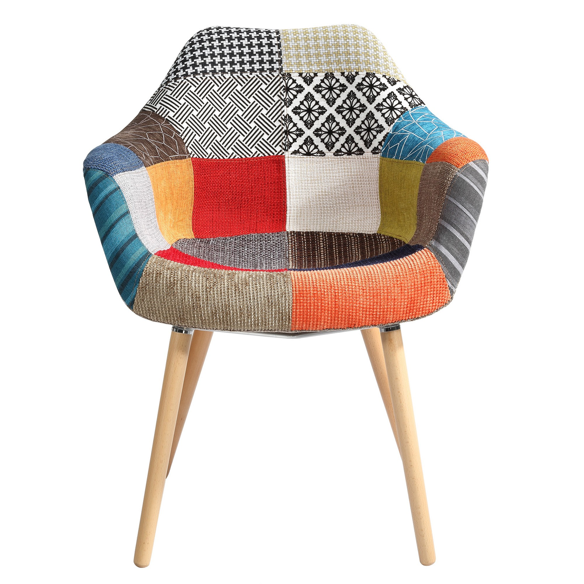 acheter chaise patchwork colore