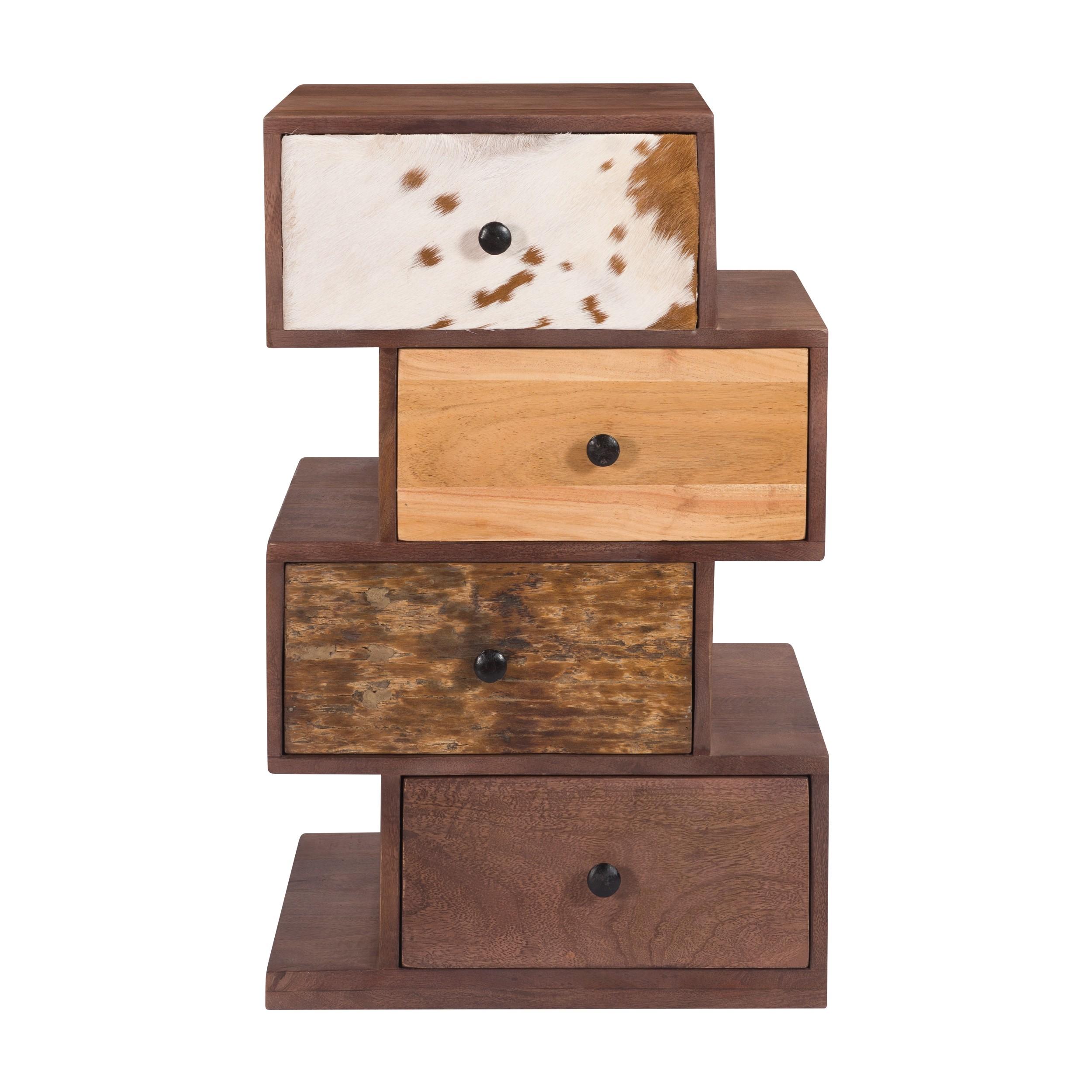 acheter chiffonnier en bois et cuir