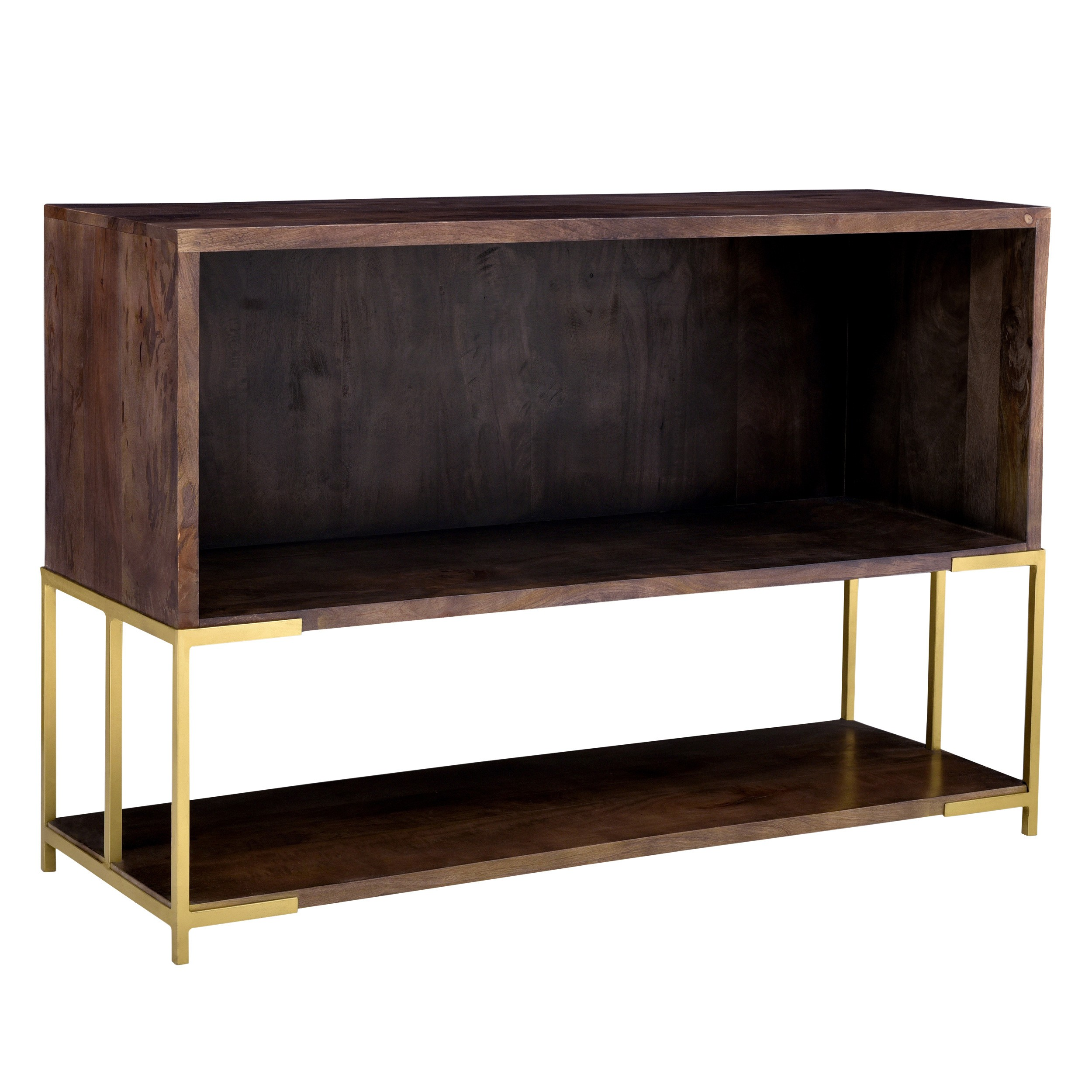 acheter console en bois et metal