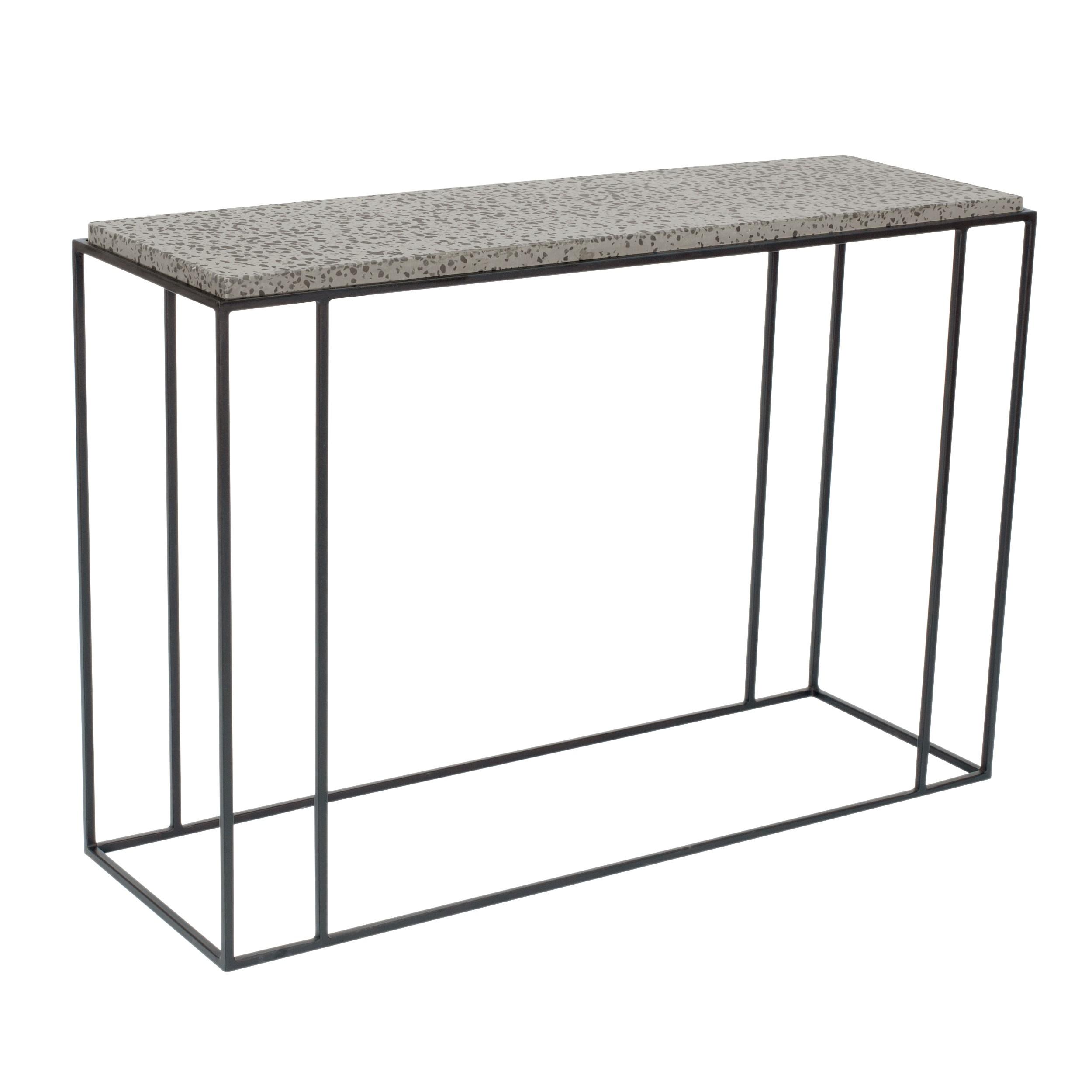 acheter console terrazzo et metal