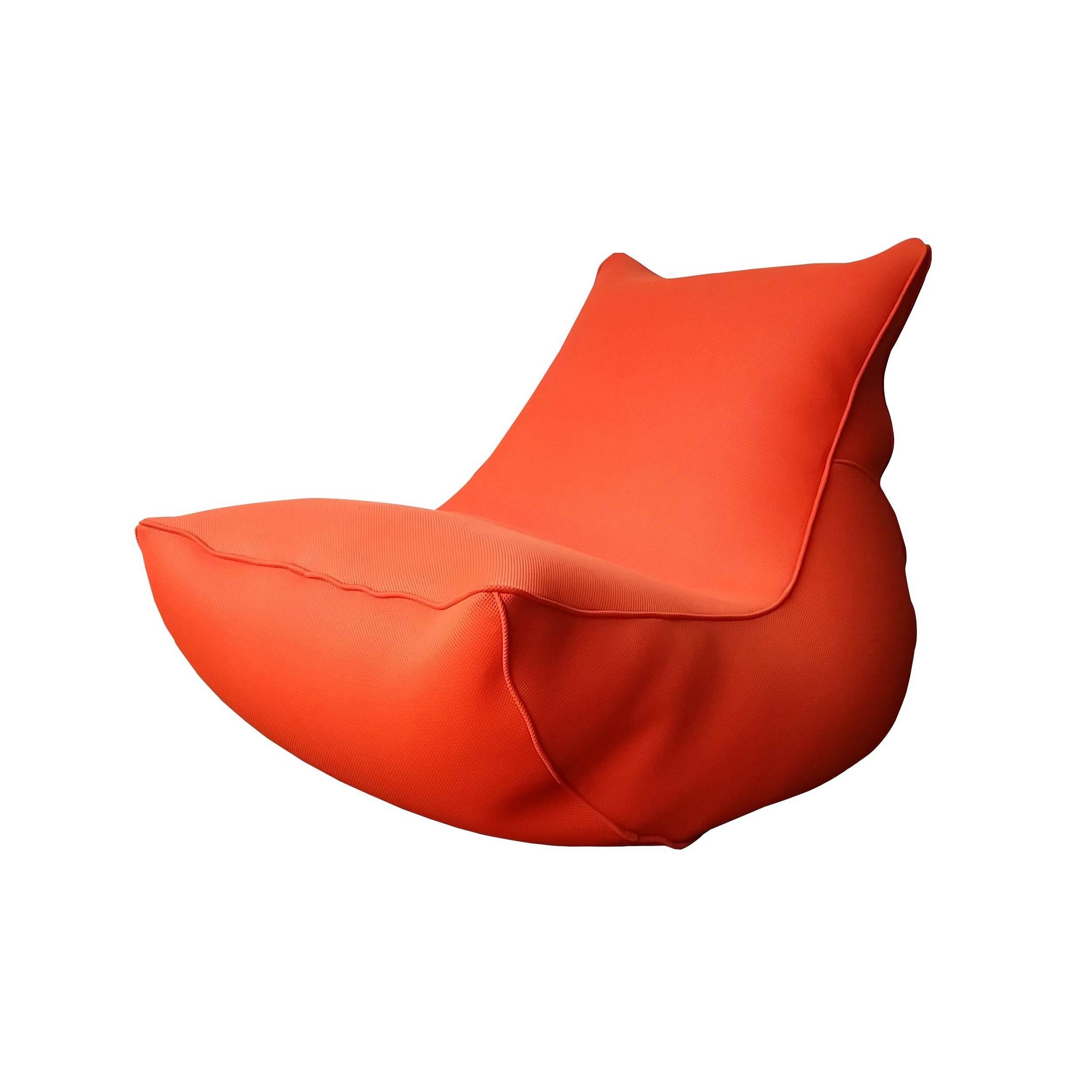 acheter coussin lounge orange