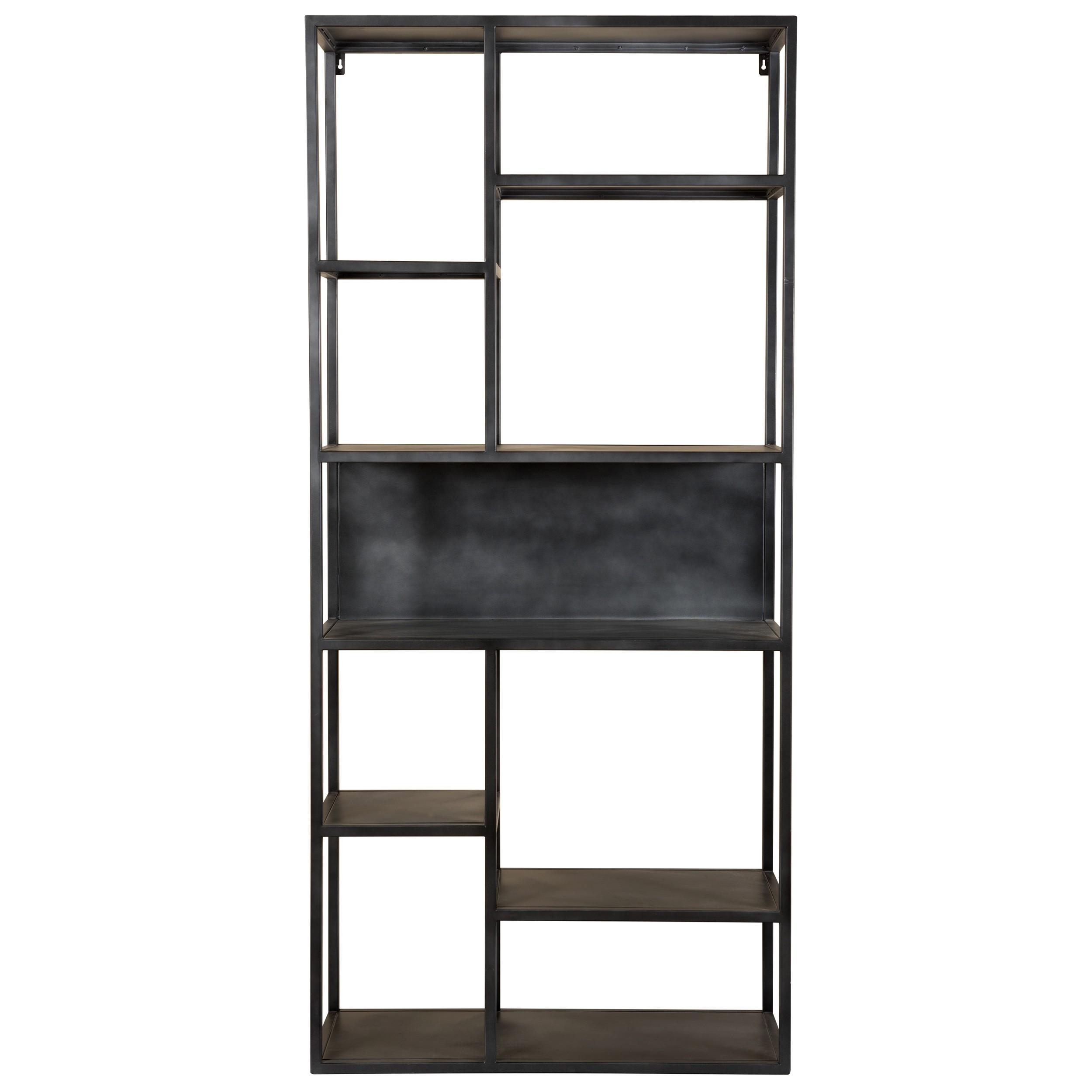 acheter etagère noire en metal design