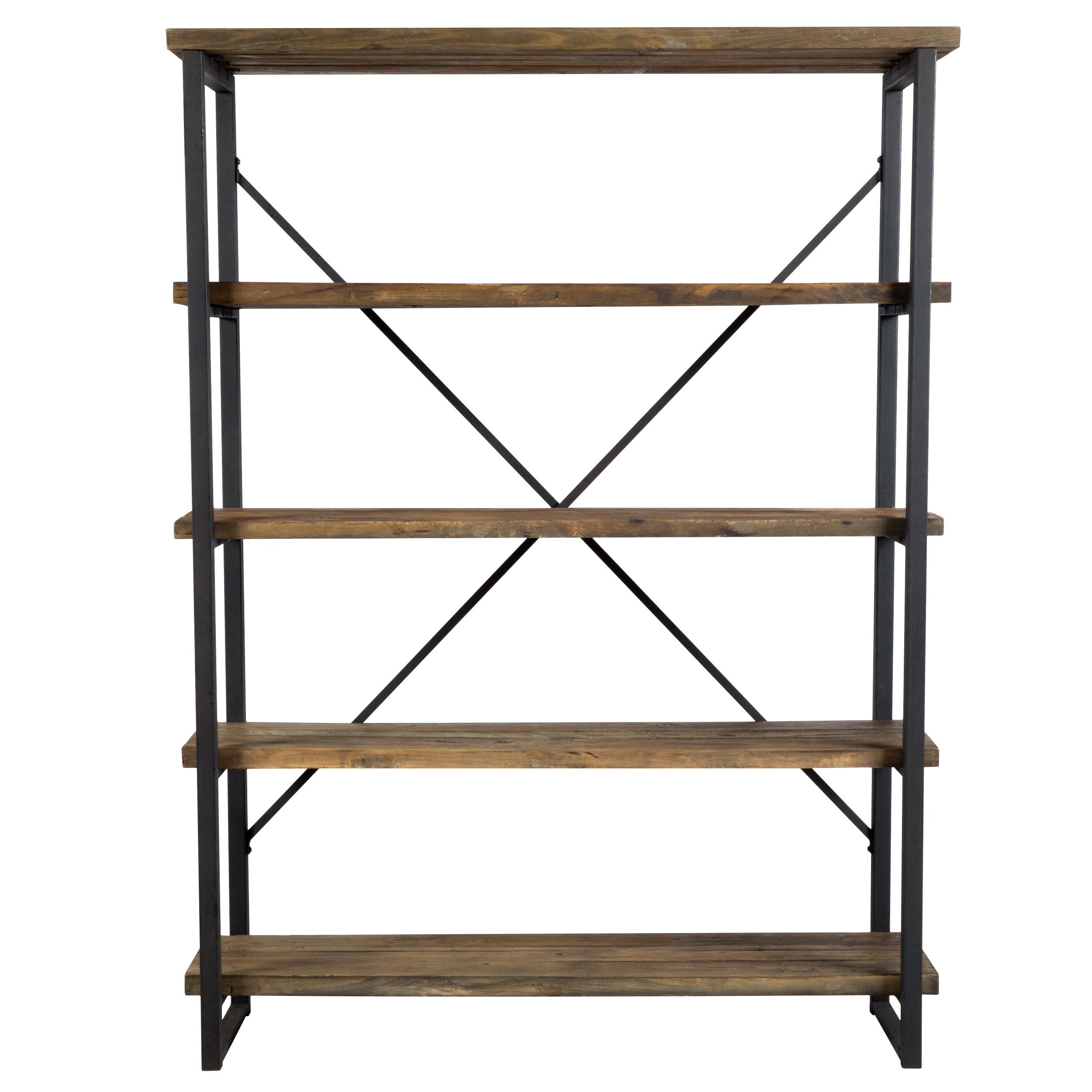 acheter etagere 4 niveaux bois