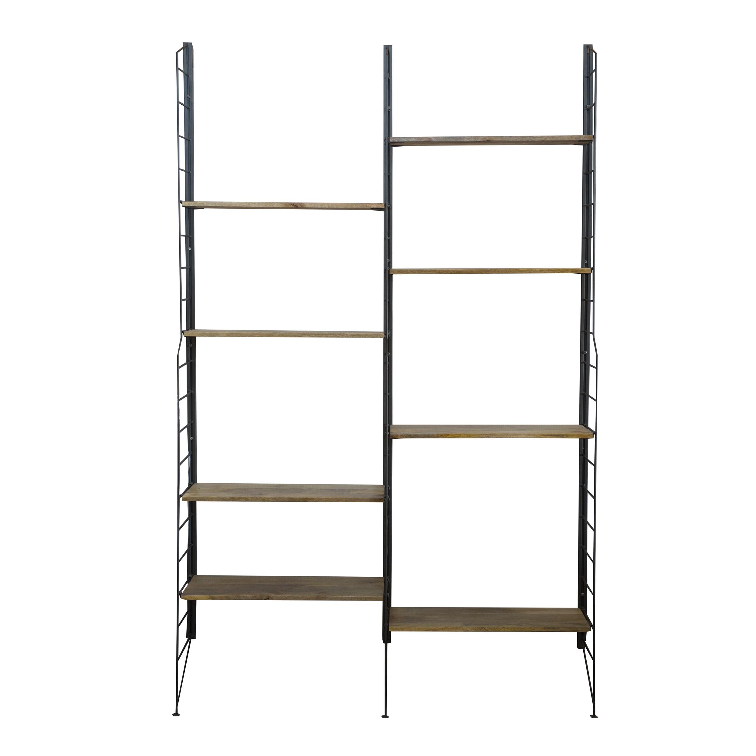 acheter etagere en bois et metal
