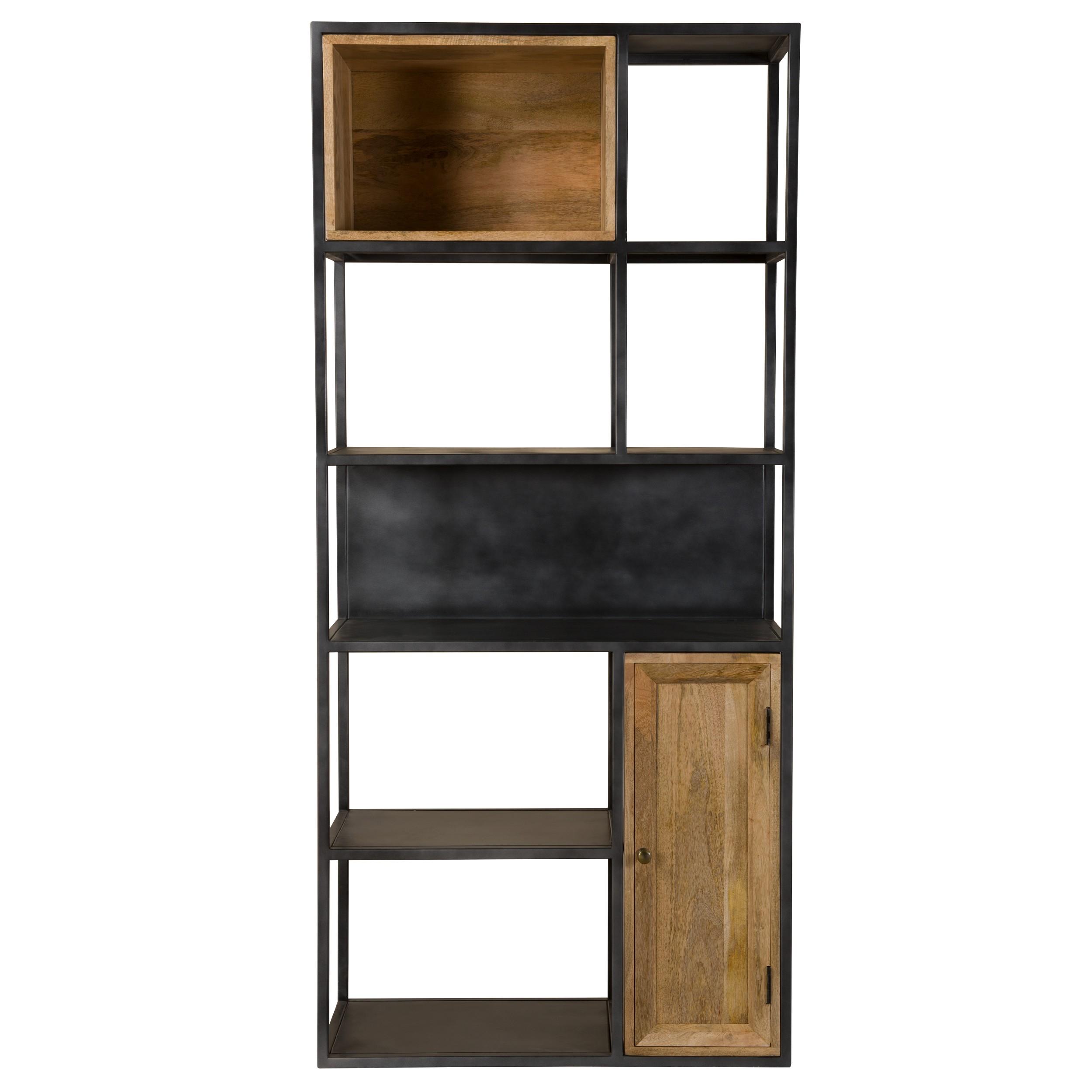 acheter etagere en metal et bois