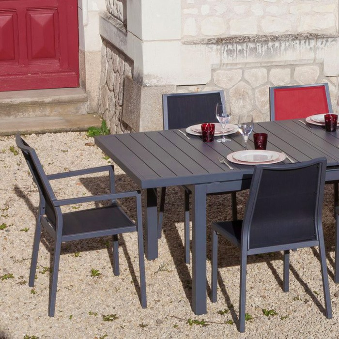 acheter fauteuil avec accoudoirs de jardin