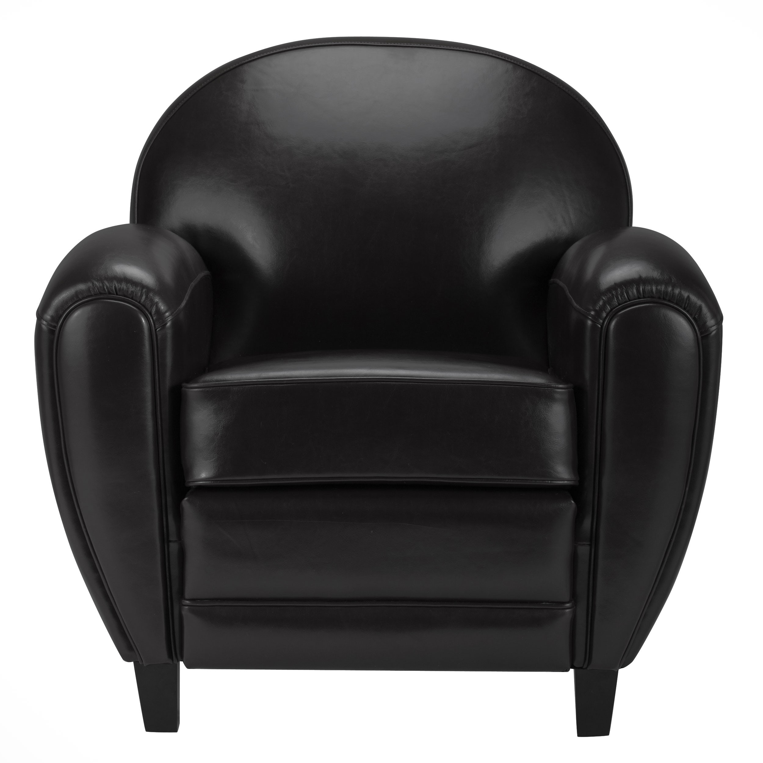 fauteuil club noir opter pour un fauteuil club en cuir rdv d co. Black Bedroom Furniture Sets. Home Design Ideas
