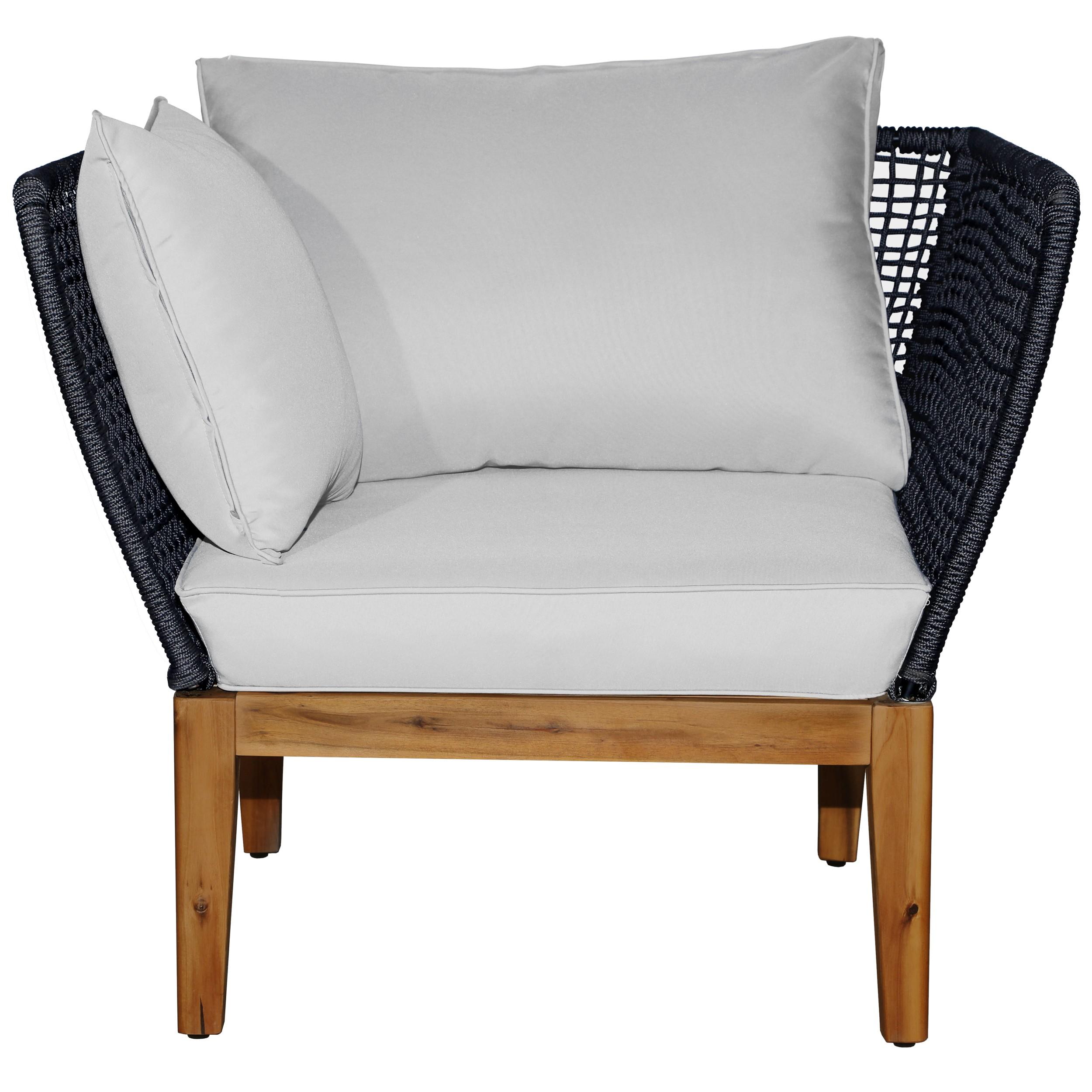 acheter fauteuil corde tissee pieds bois