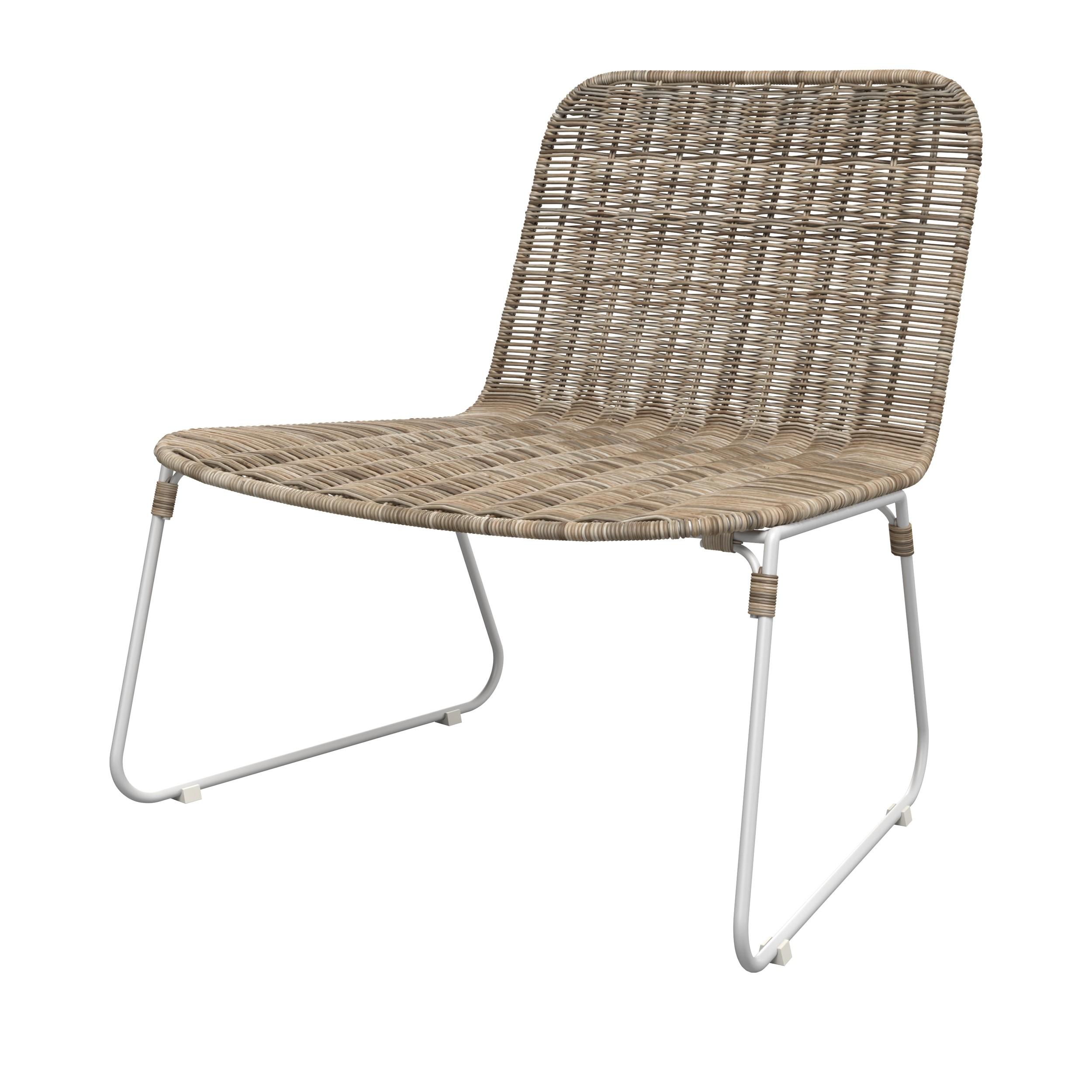 acheter fauteuil de jardin bas confort tresse