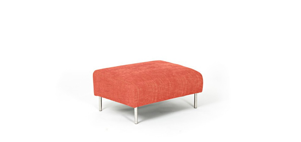 pouf orange scandinave commandez nos poufs orange style scandinave rendez vous d co. Black Bedroom Furniture Sets. Home Design Ideas