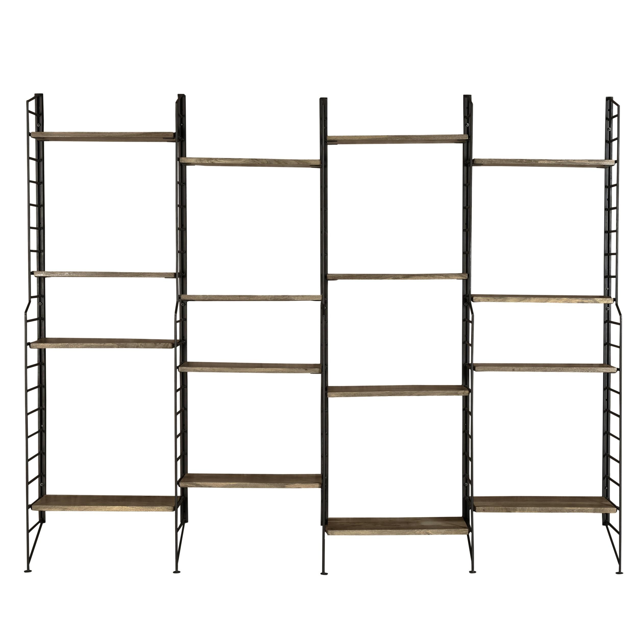 acheter-grande-etagere-en-bois-et-metal