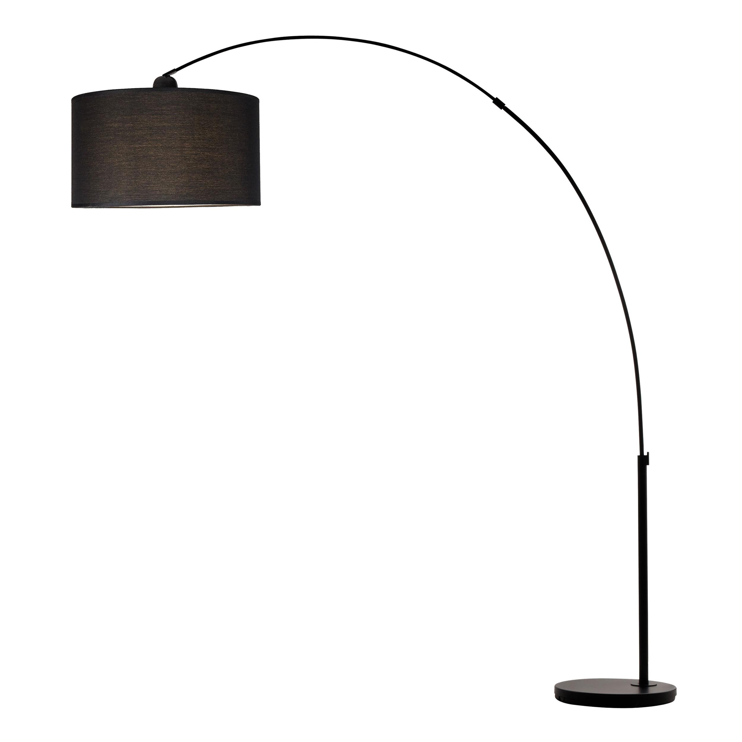 Super Lampadaire Arc Attis noir : découvrez les lampadaires Arc Attis  ZT01