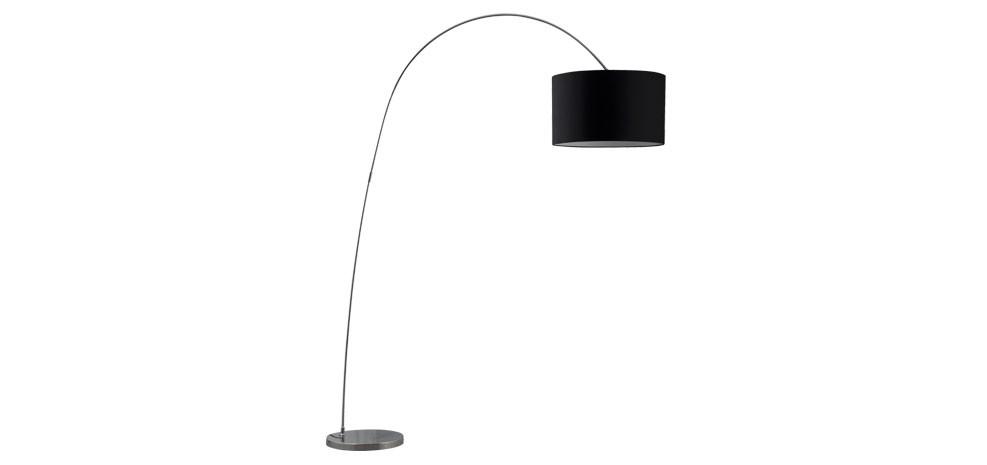lampadaire noir en tissu optez pour nos lampadaires noirs en tissu design rdvd co. Black Bedroom Furniture Sets. Home Design Ideas