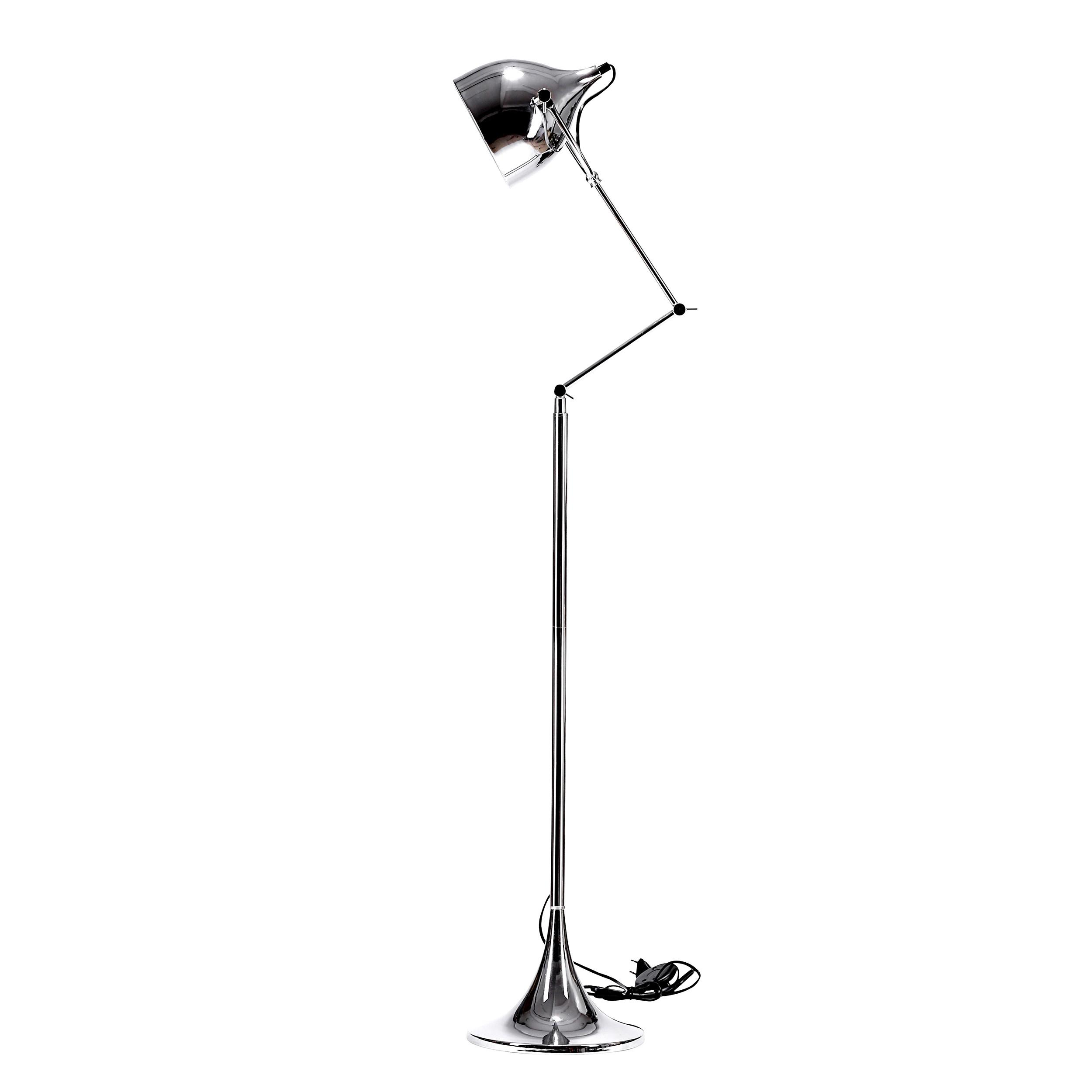 acheter lampadaire chrome