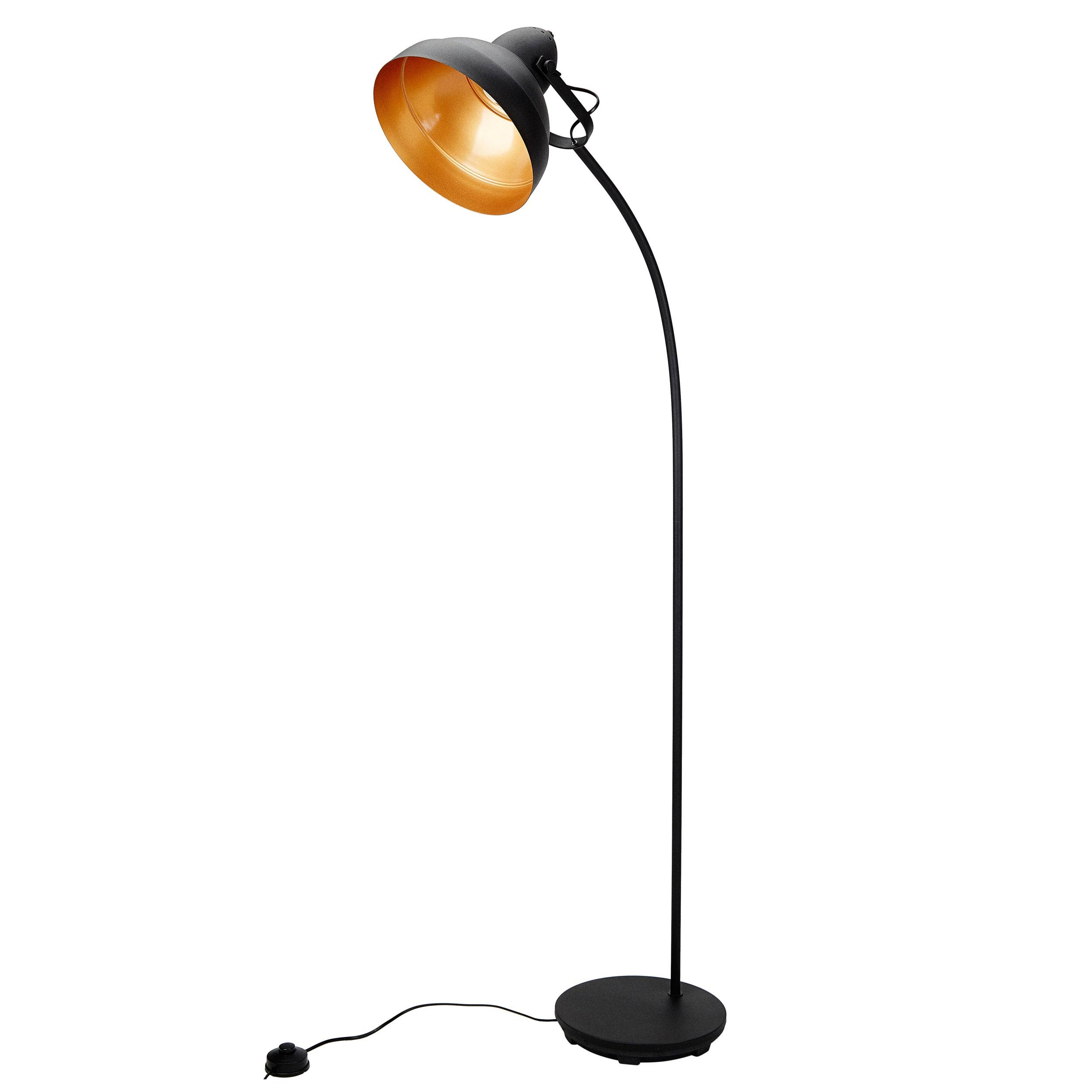 acheter lampadaire cuivre metal