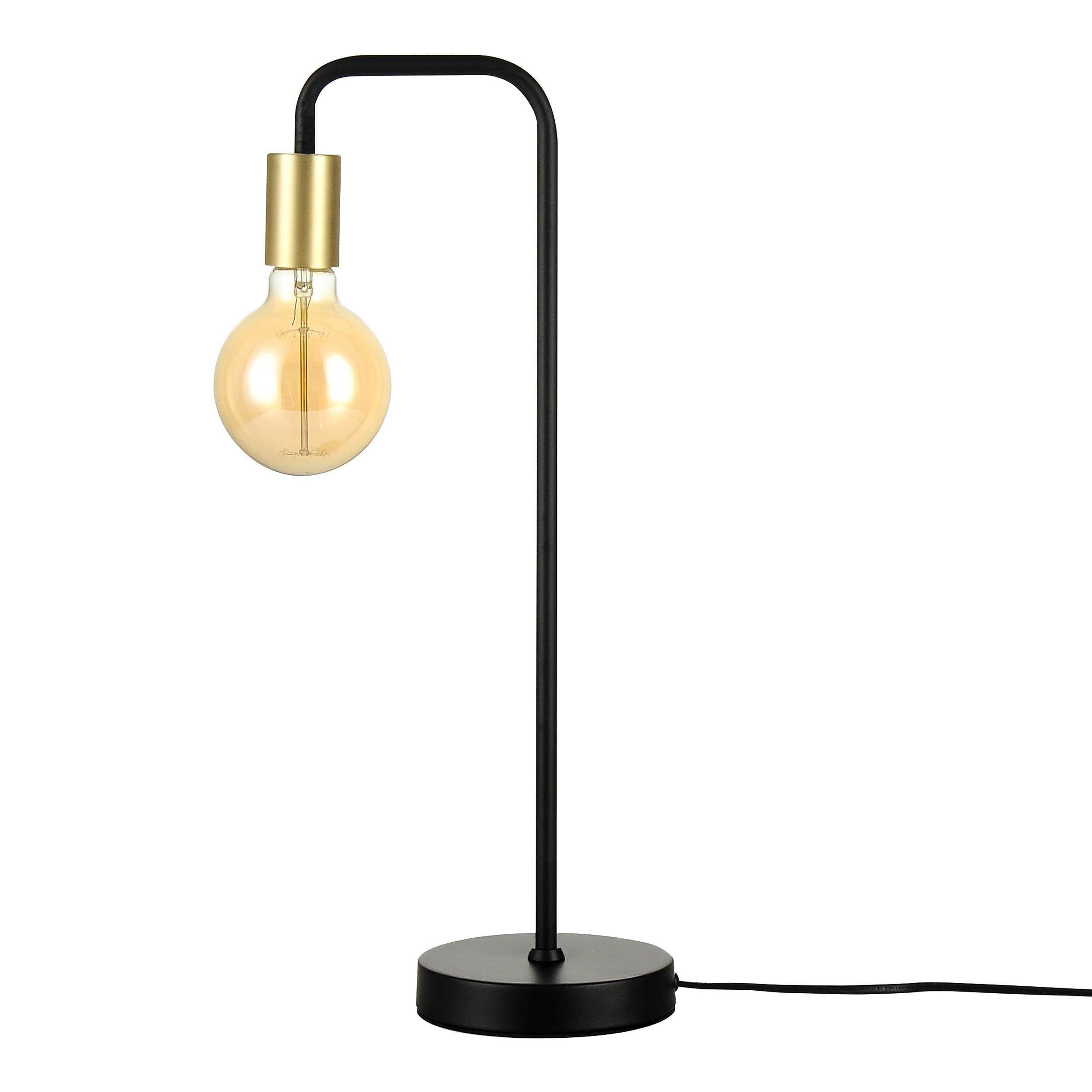Lampe A Poser Yse Noire Ampoule Incluse Commandez Les Lampes A