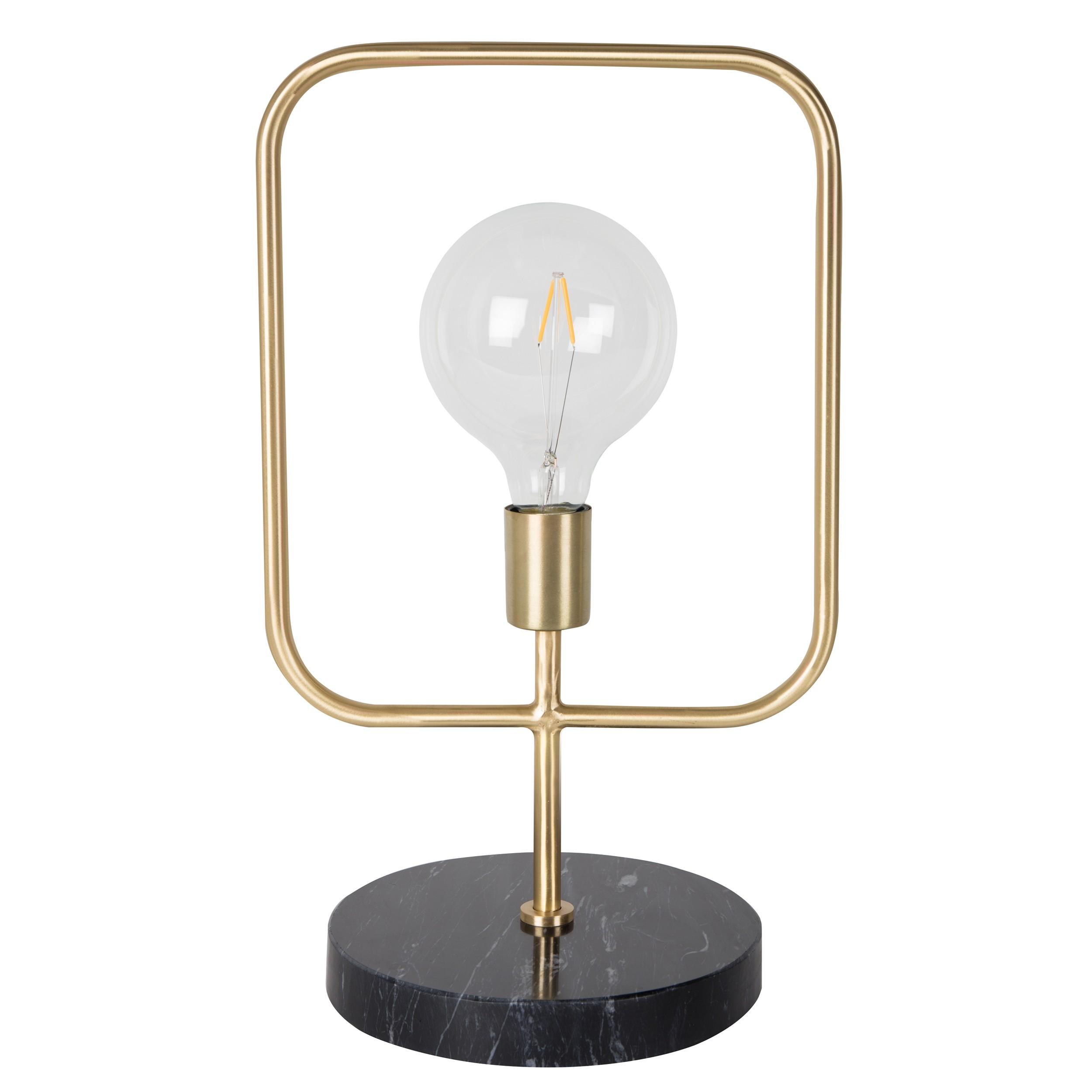 acheter lampe de chevet marbre et or