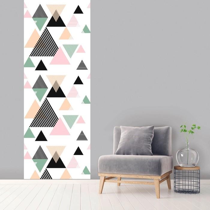 acheter le unique multicolore geometrique