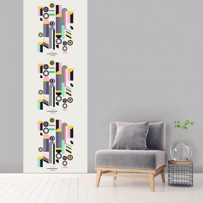acheter le vertical multicolore 100 x 270 cm
