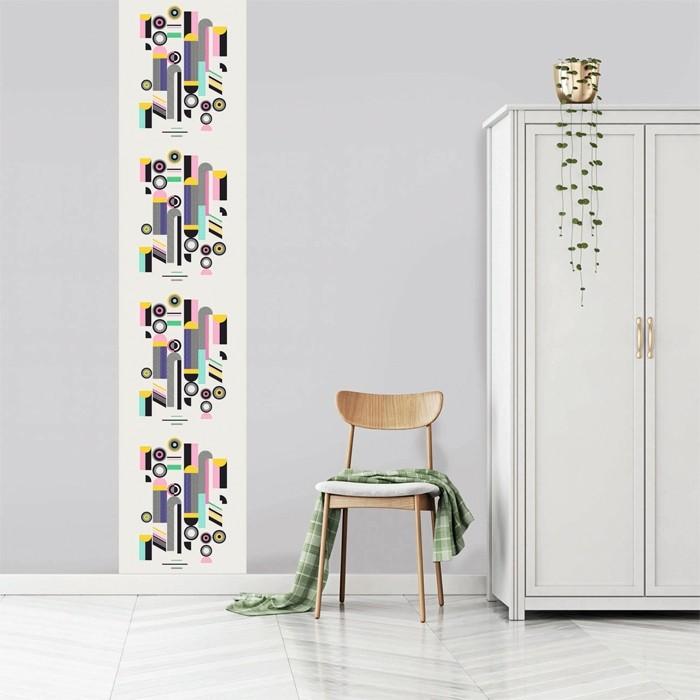 acheter le vertical multicolore 60 x 270 cm