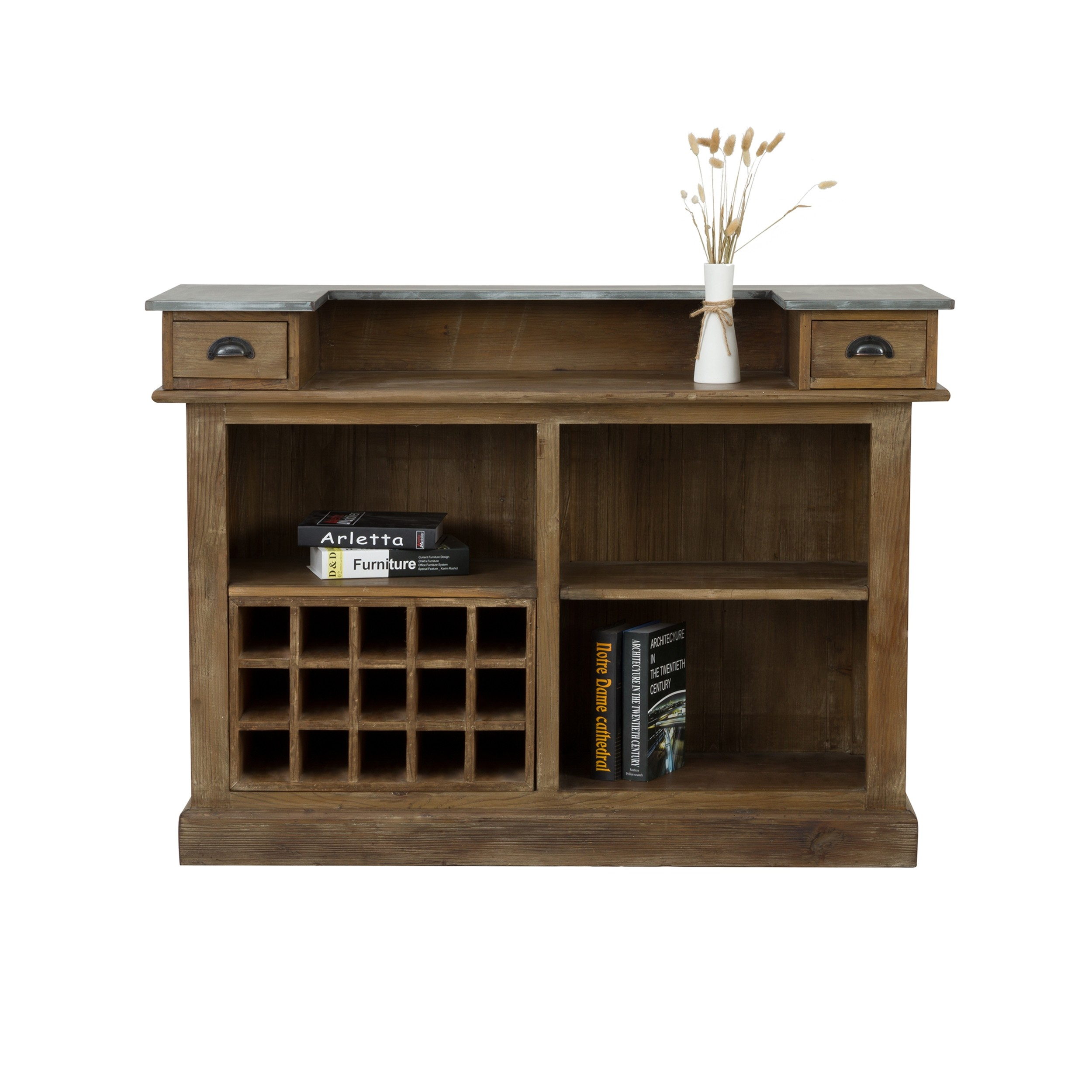 acheter meuble de bar en bois de cedre