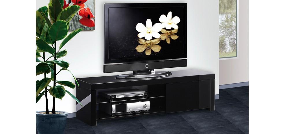 Meuble Tv Atlas Noir Adoptez Nos Meubles Tv Atlas Noirs Design