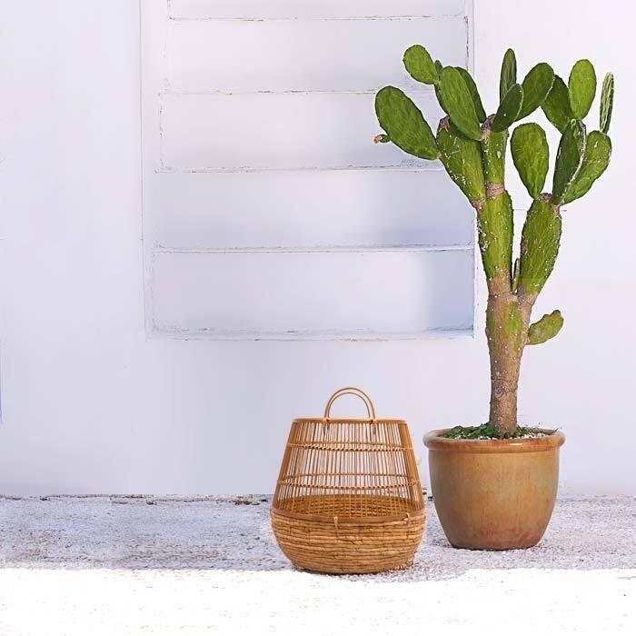 acheter panier en matiere naturelle simple