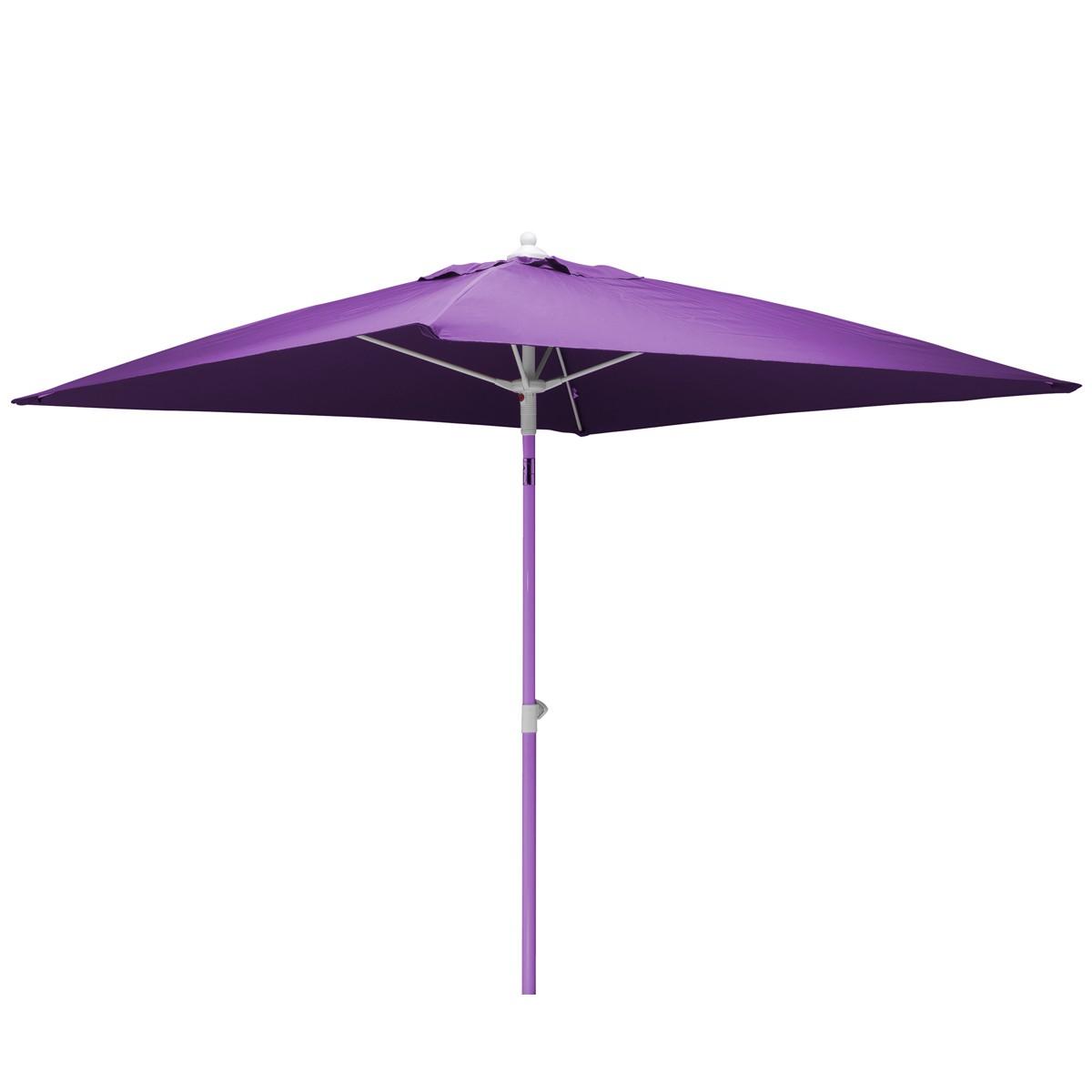 acheter parasol 2 x 2 violet