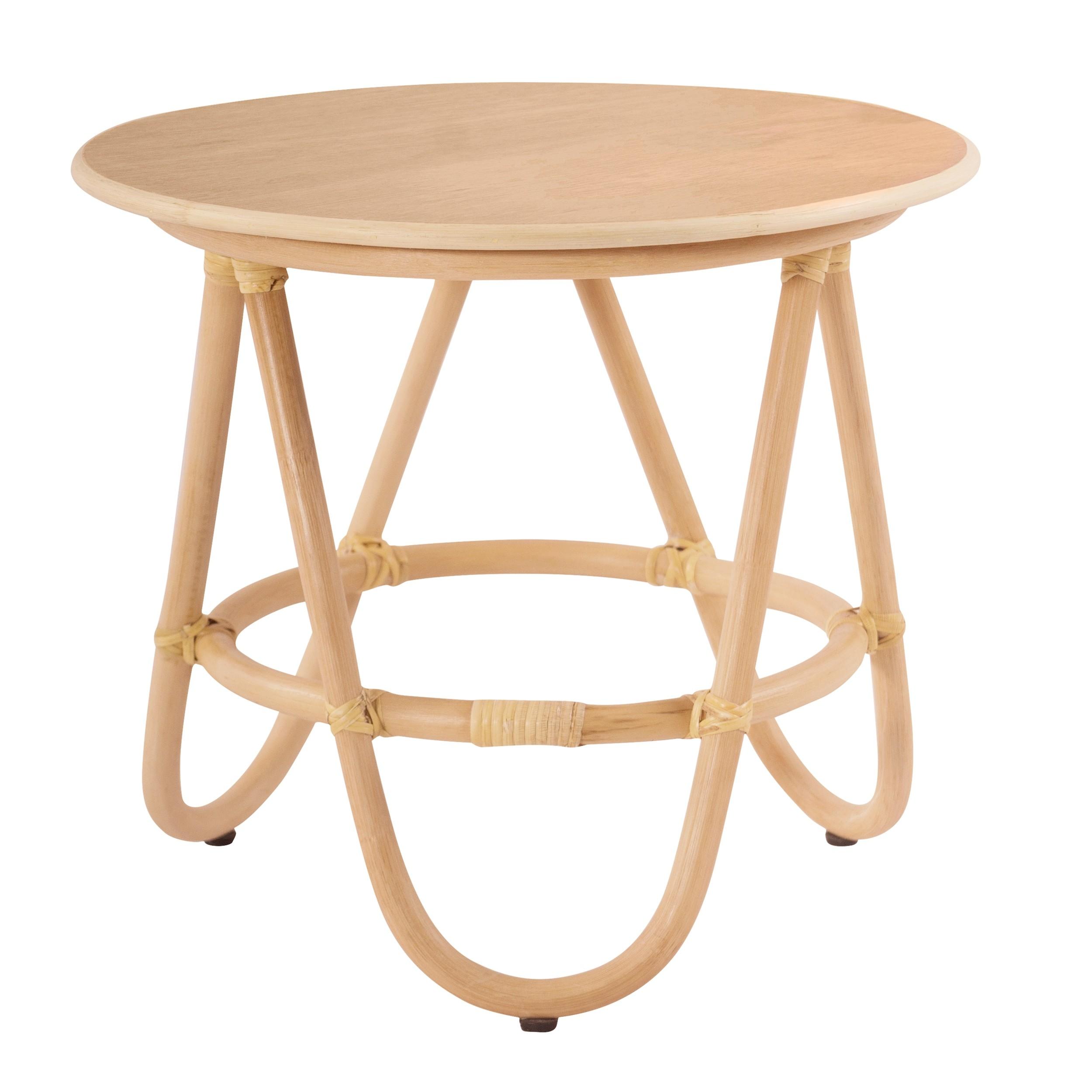 acheter petite table d appoint en rotin