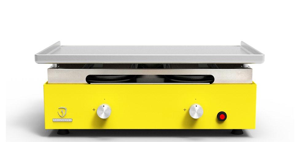 planchas jaunes inox savourez vos plats avec la plancha au gaz rdv d co. Black Bedroom Furniture Sets. Home Design Ideas