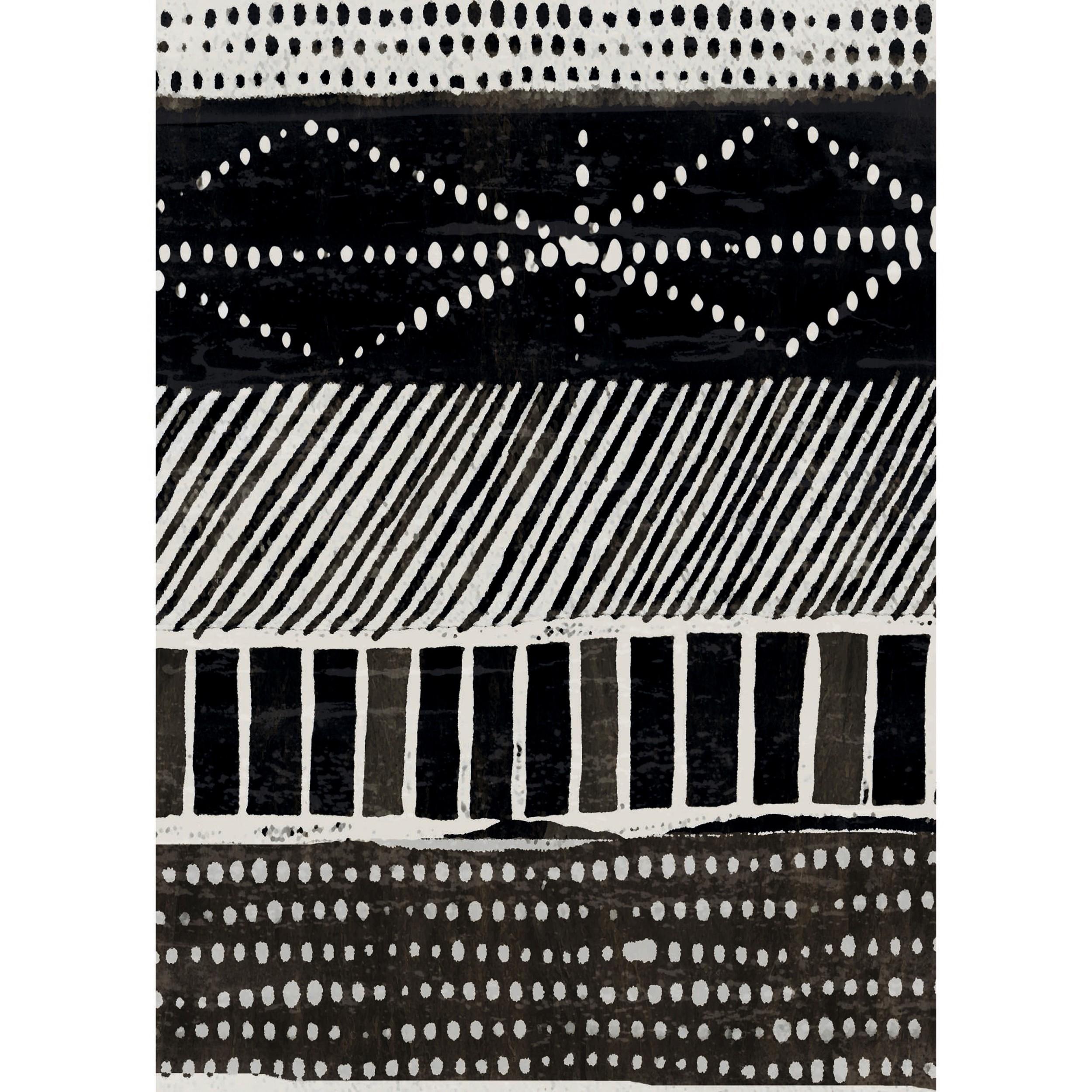 acheter poster noir blanc 50 cm vicky